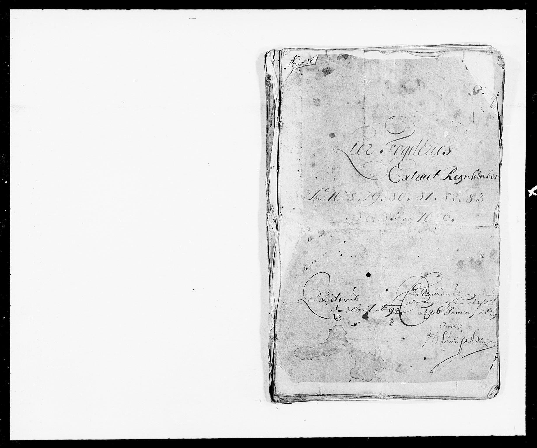 RA, Rentekammeret inntil 1814, Reviderte regnskaper, Fogderegnskap, R27/L1686: Fogderegnskap Lier, 1678-1686, s. 1