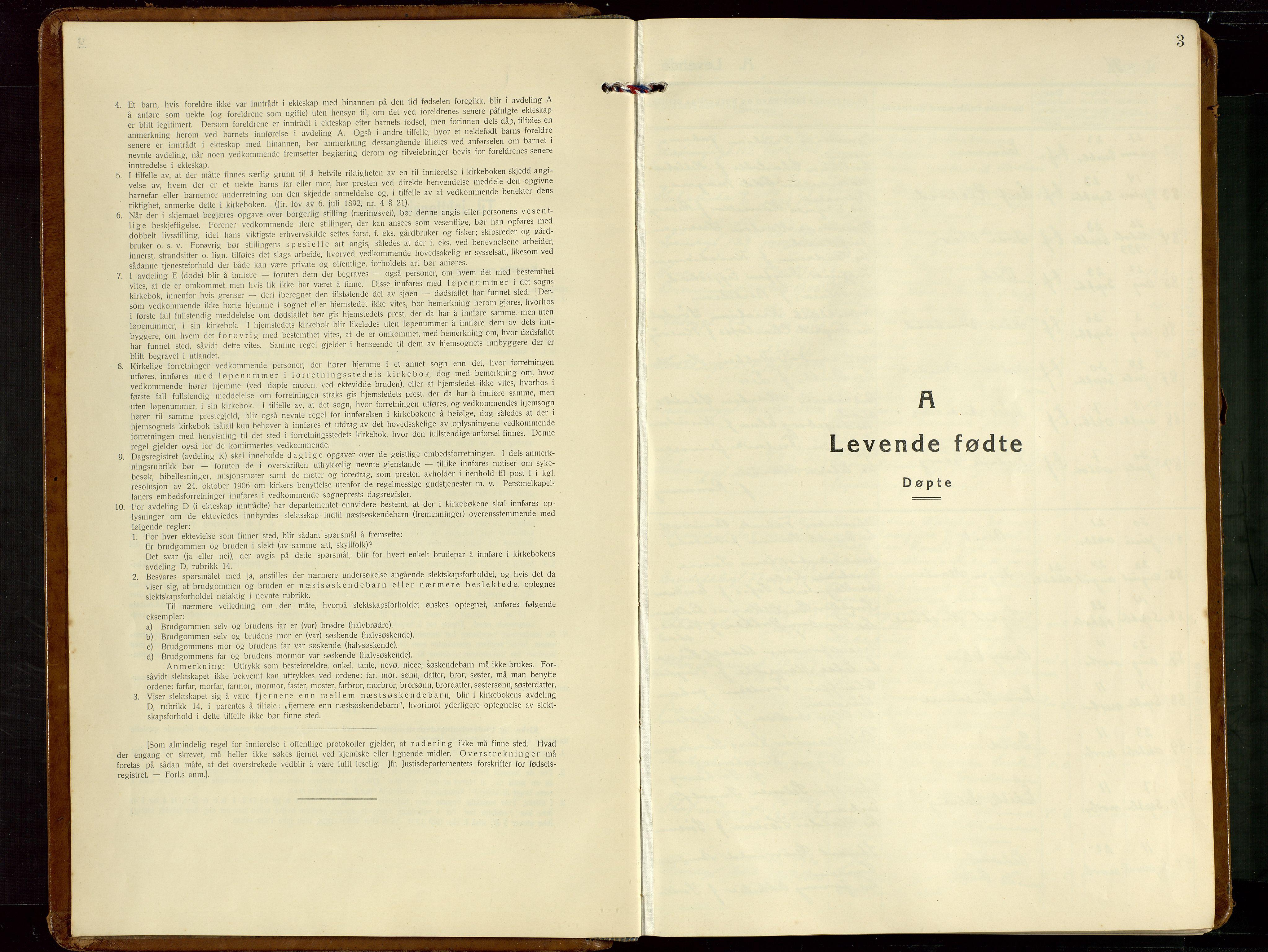 SAST, Haugesund sokneprestkontor, H/Ha/Hab/L0013: Klokkerbok nr. B 13, 1931-1943, s. 3
