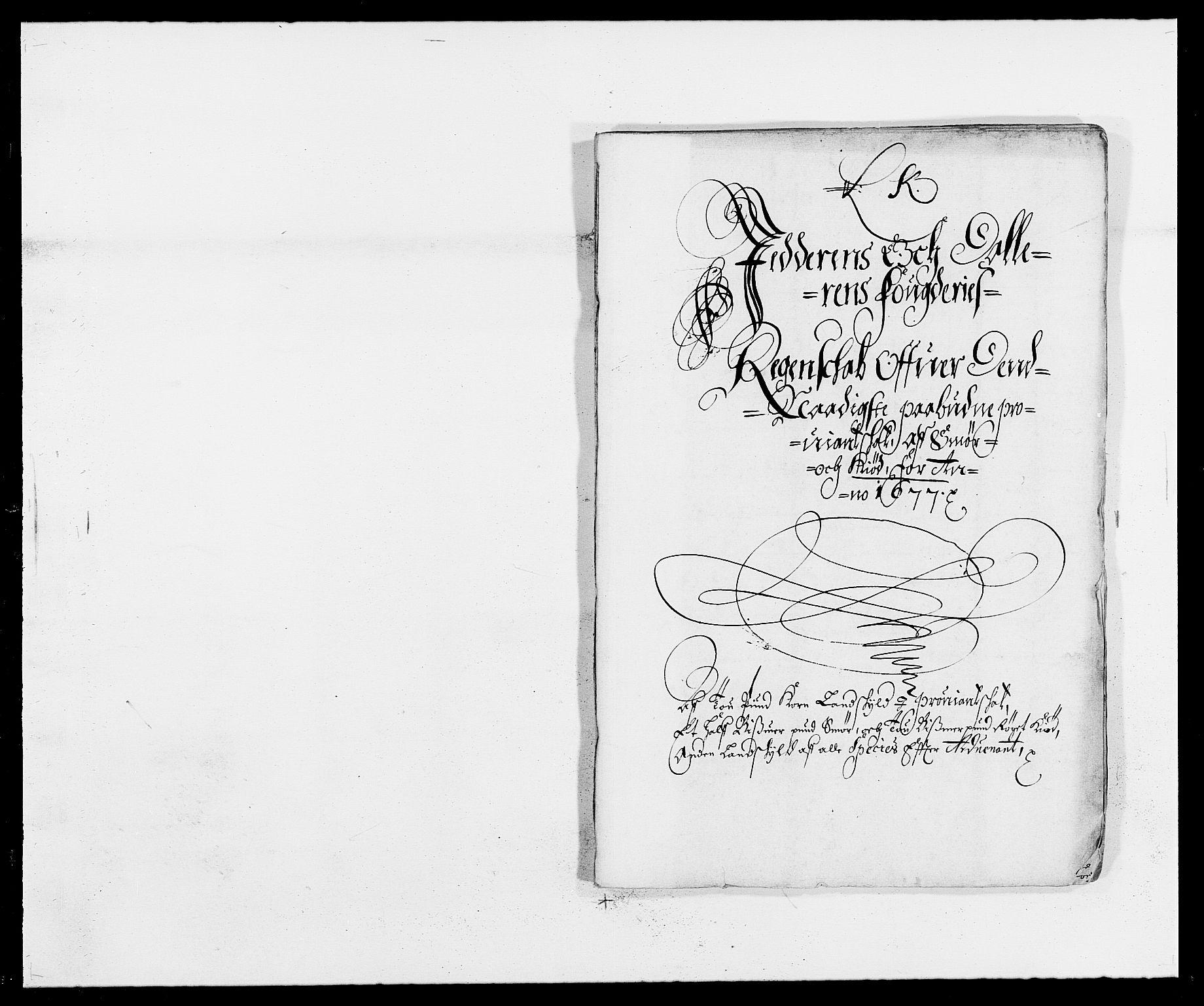 RA, Rentekammeret inntil 1814, Reviderte regnskaper, Fogderegnskap, R46/L2717: Fogderegnskap Jæren og Dalane, 1677, s. 277