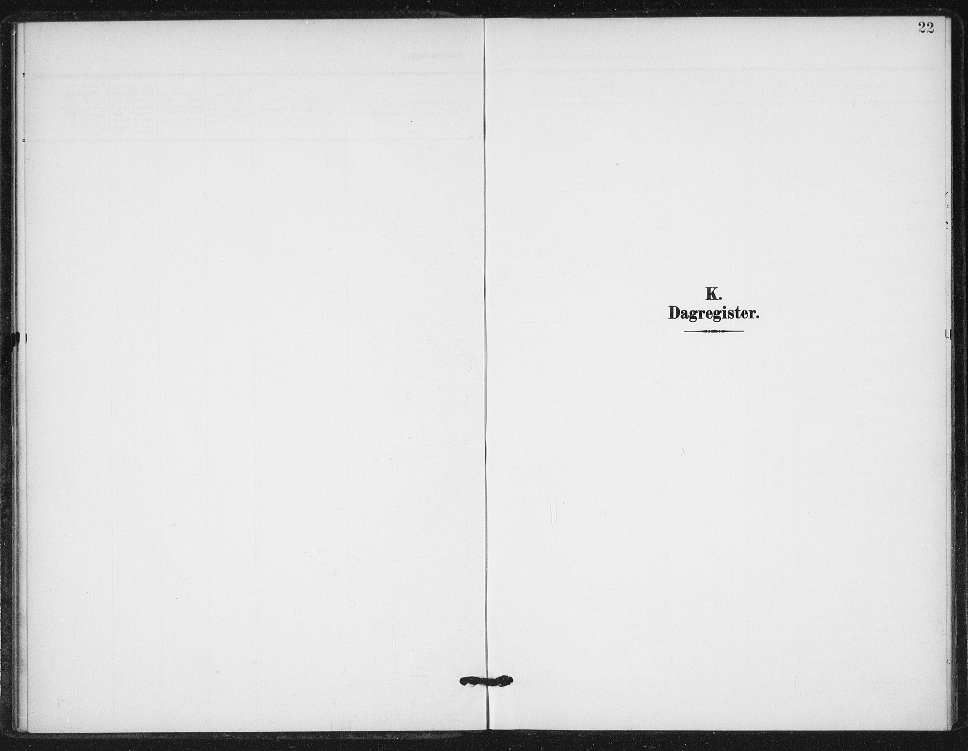 SAT, Ministerialprotokoller, klokkerbøker og fødselsregistre - Sør-Trøndelag, 623/L0472: Ministerialbok nr. 623A06, 1907-1938, s. 22