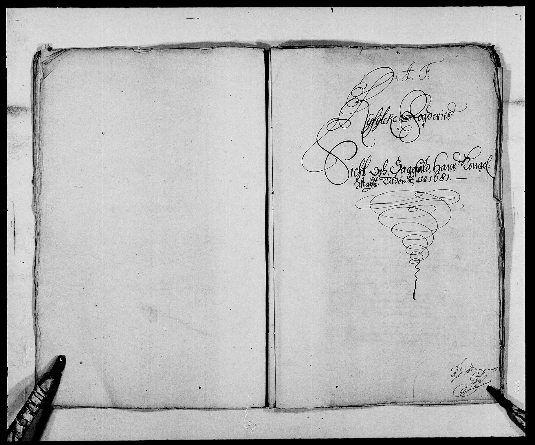 RA, Rentekammeret inntil 1814, Reviderte regnskaper, Fogderegnskap, R47/L2852: Fogderegnskap Ryfylke, 1681, s. 119