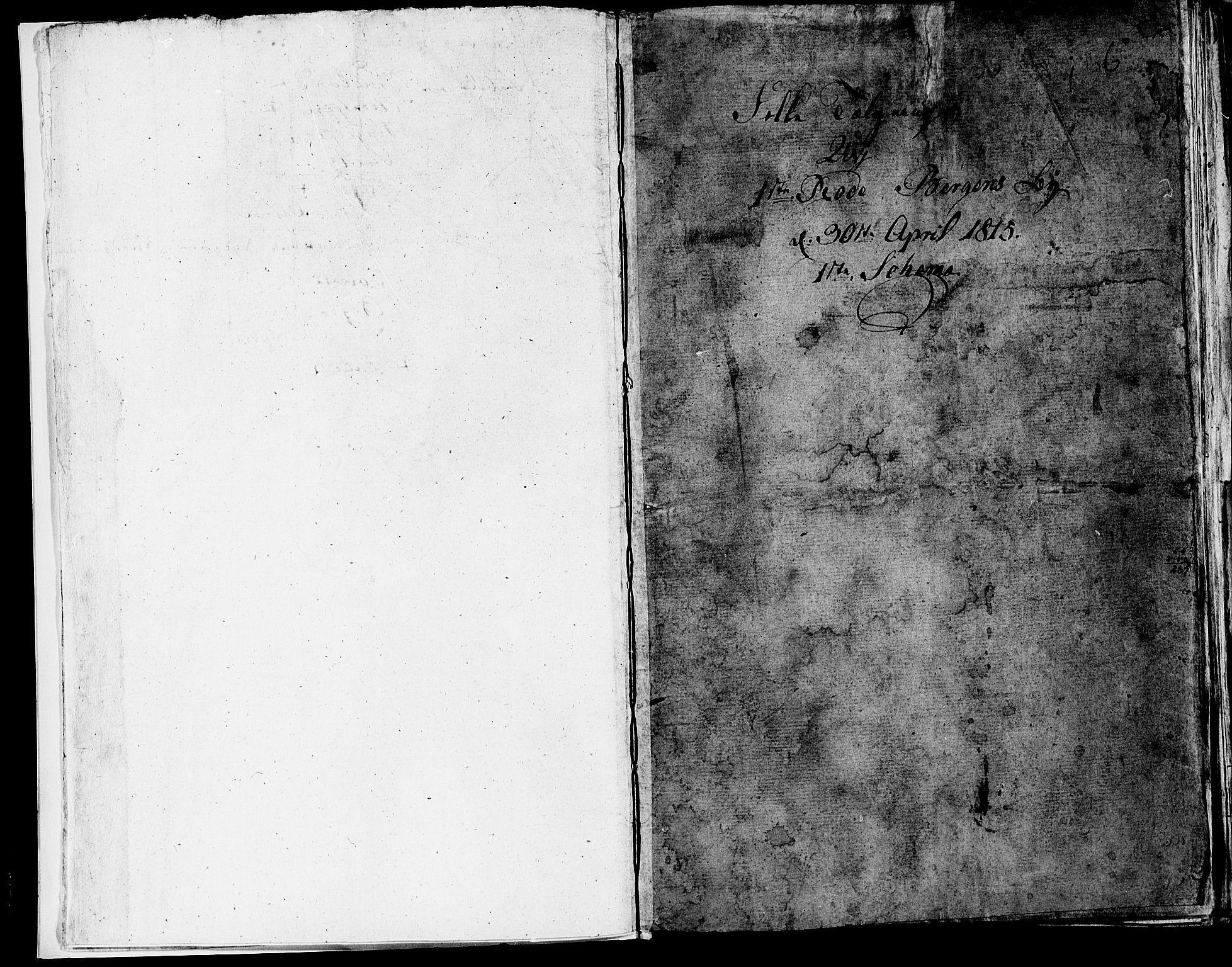 SAB, Folketelling 1815 for 1301 Bergen kjøpstad, 1815, s. 6