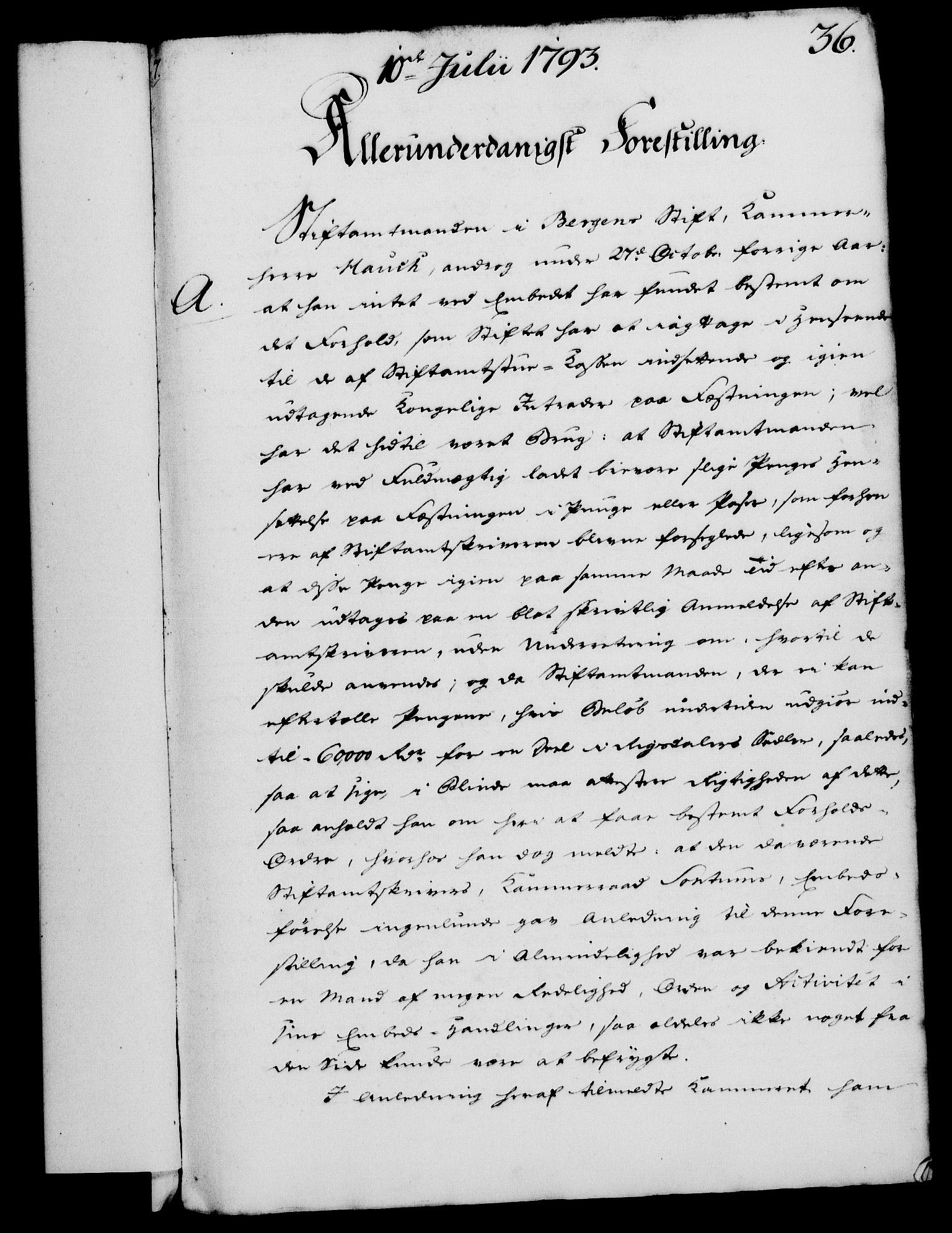 RA, Rentekammeret, Kammerkanselliet, G/Gf/Gfa/L0075: Norsk relasjons- og resolusjonsprotokoll (merket RK 52.75), 1793, s. 167
