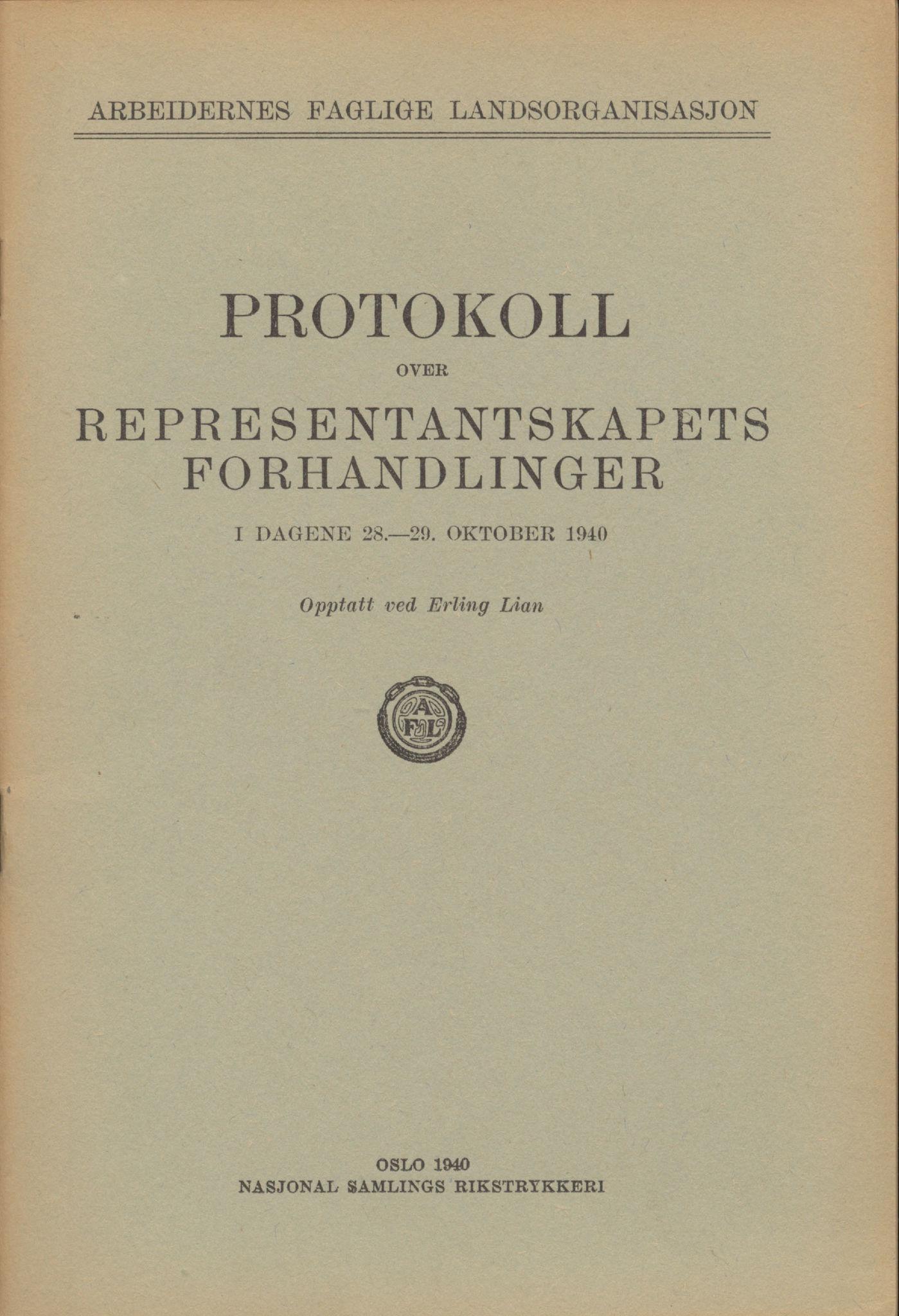 AAB, Landsorganisasjonen i Norge, 1911-1953, s. 396