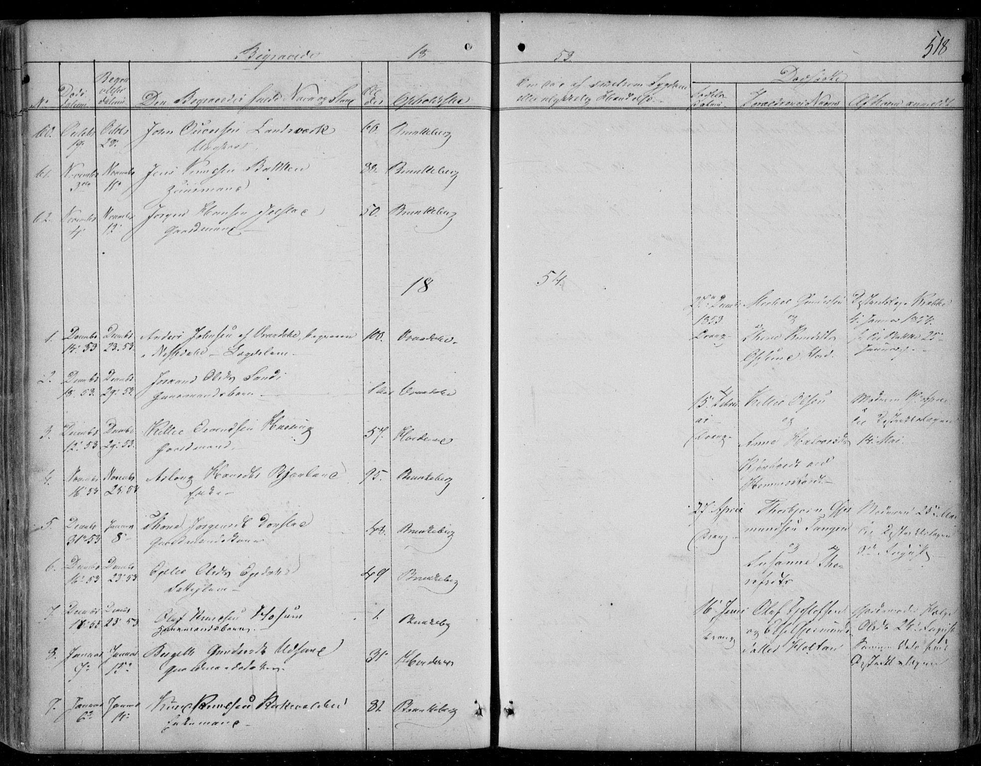 SAKO, Kviteseid kirkebøker, F/Fa/L0006: Ministerialbok nr. I 6, 1836-1858, s. 518