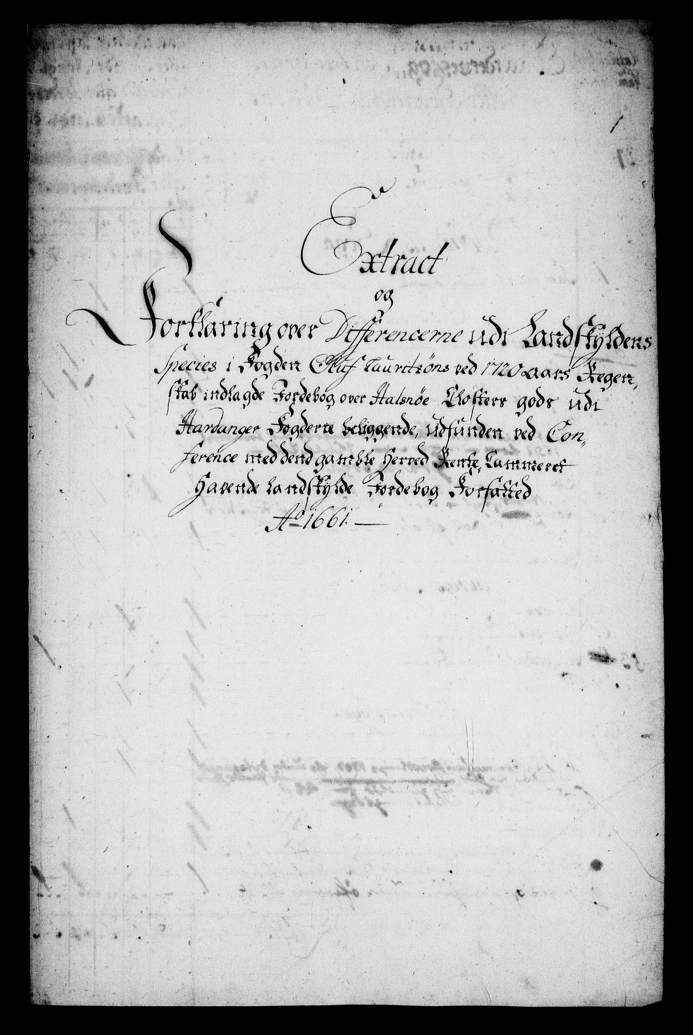 RA, Rentekammeret inntil 1814, Realistisk ordnet avdeling, On/L0005: [Jj 6]: Forskjellige dokumenter om Halsnøy klosters gods, 1697-1770, s. 385
