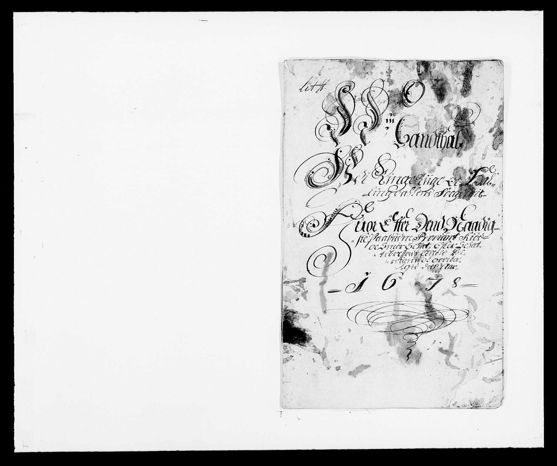 RA, Rentekammeret inntil 1814, Reviderte regnskaper, Fogderegnskap, R21/L1443: Fogderegnskap Ringerike og Hallingdal, 1678-1680, s. 127