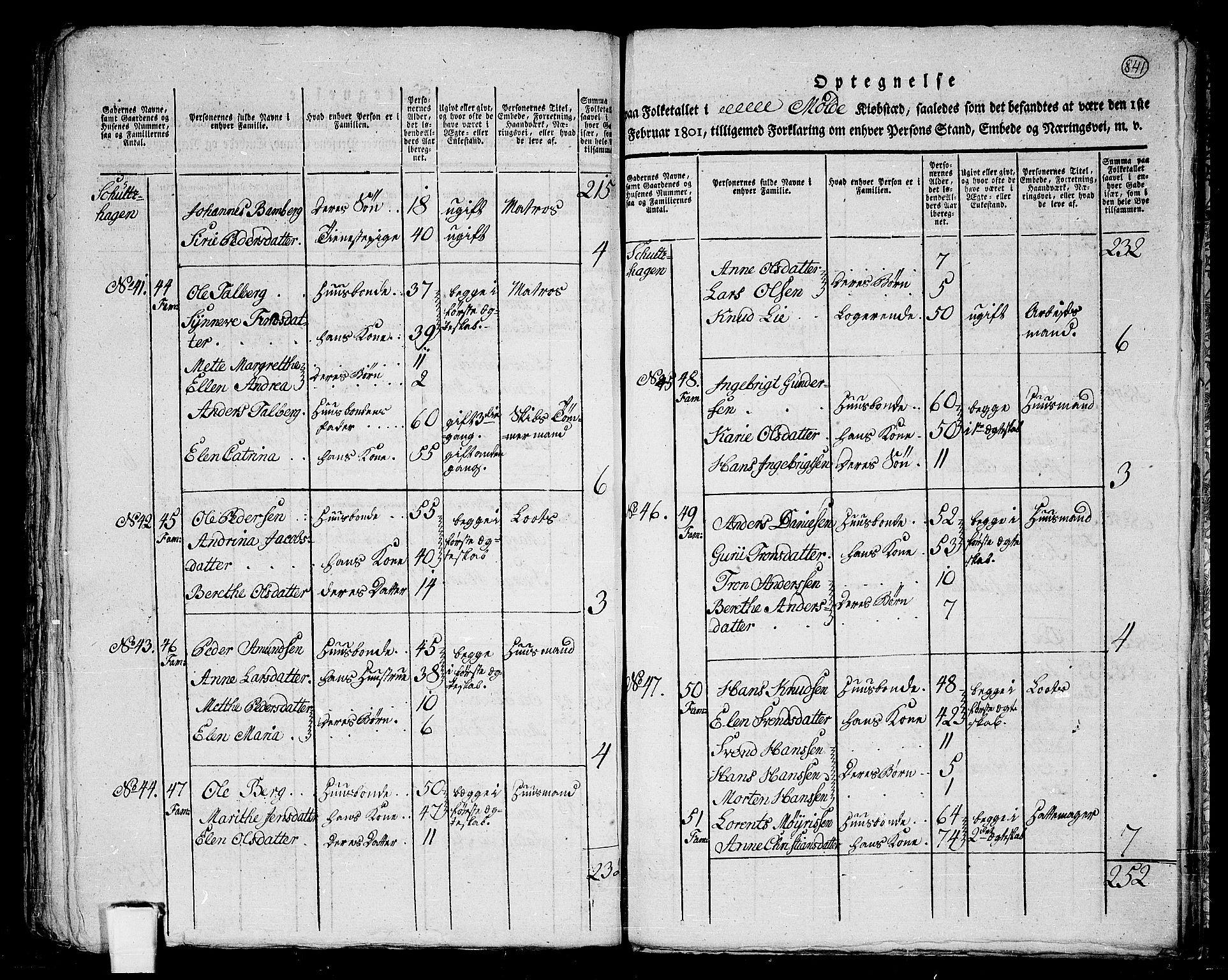 RA, Folketelling 1801 for 1544P Bolsøy prestegjeld, 1801, s. 840b-841a
