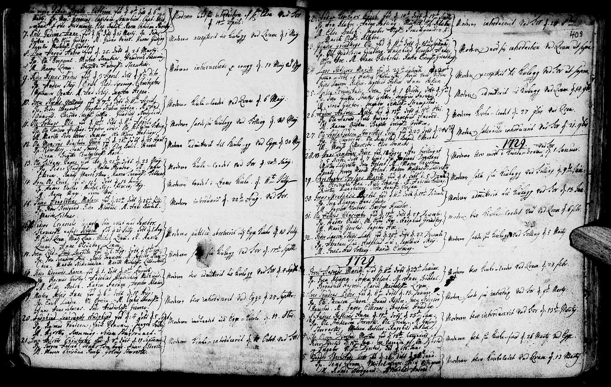 SAT, Ministerialprotokoller, klokkerbøker og fødselsregistre - Nord-Trøndelag, 746/L0439: Ministerialbok nr. 746A01, 1688-1759, s. 40h