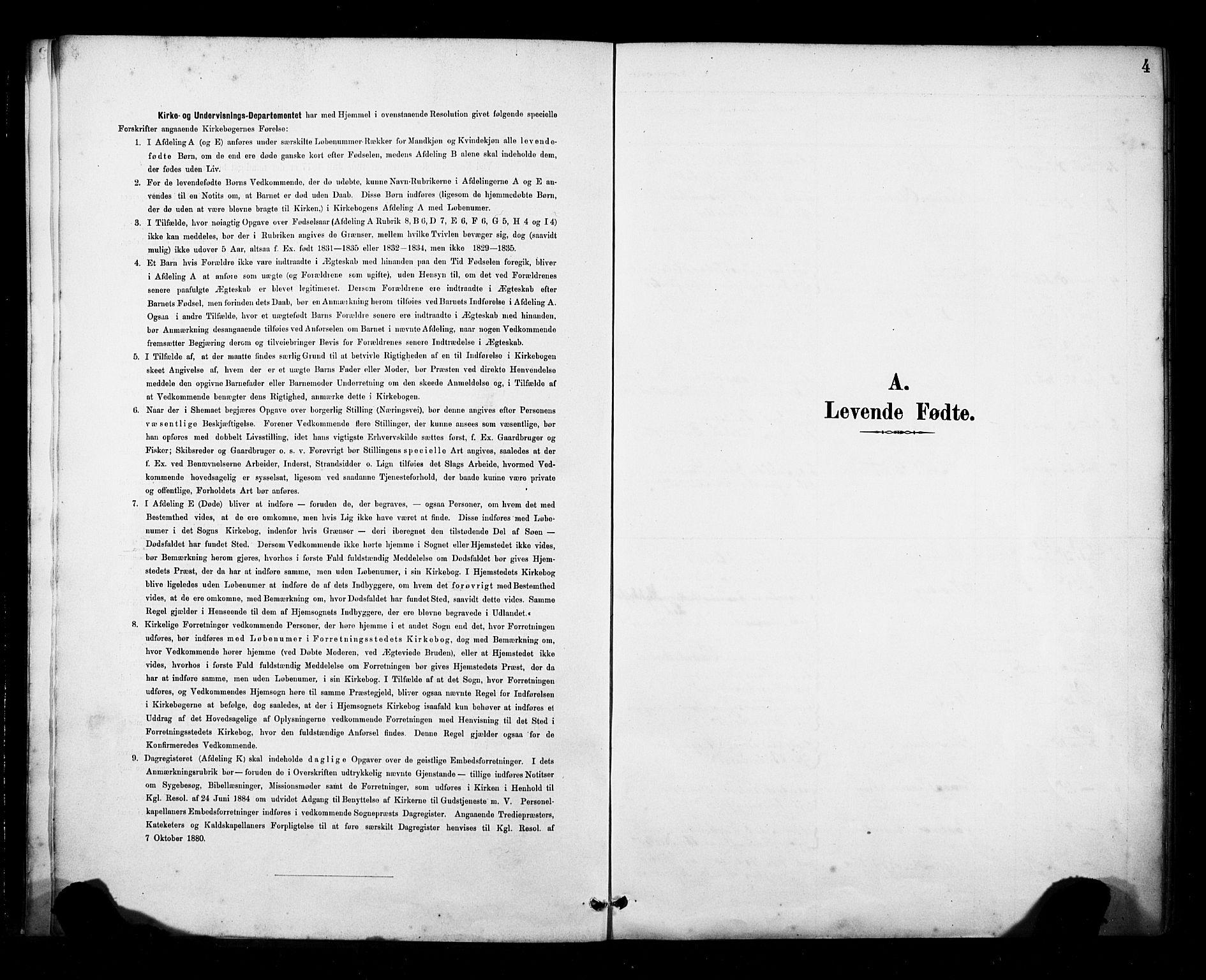 SAB, Fana Sokneprestembete, H/Haa/Haab/L0002: Ministerialbok nr. B 2, 1890-1897, s. 4