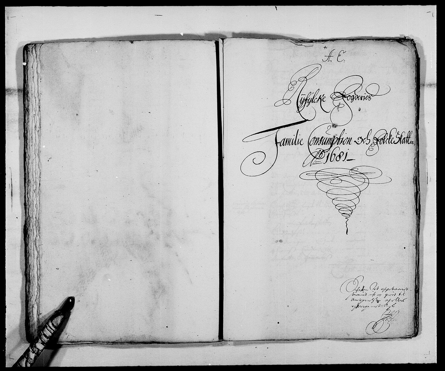 RA, Rentekammeret inntil 1814, Reviderte regnskaper, Fogderegnskap, R47/L2852: Fogderegnskap Ryfylke, 1681, s. 113