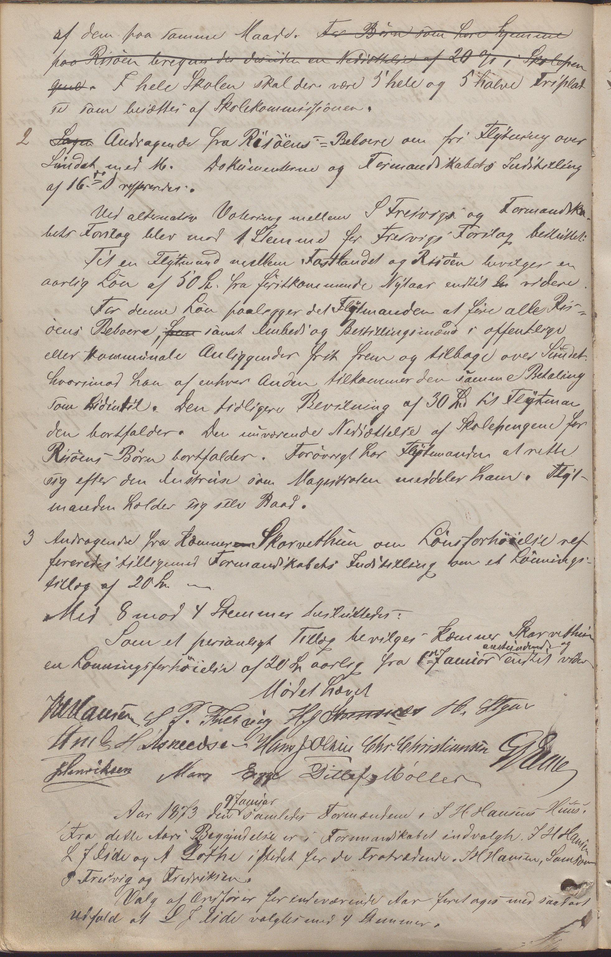 IKAR, Haugesund kommune - Formannskapet, 1866-1878, s. 88b