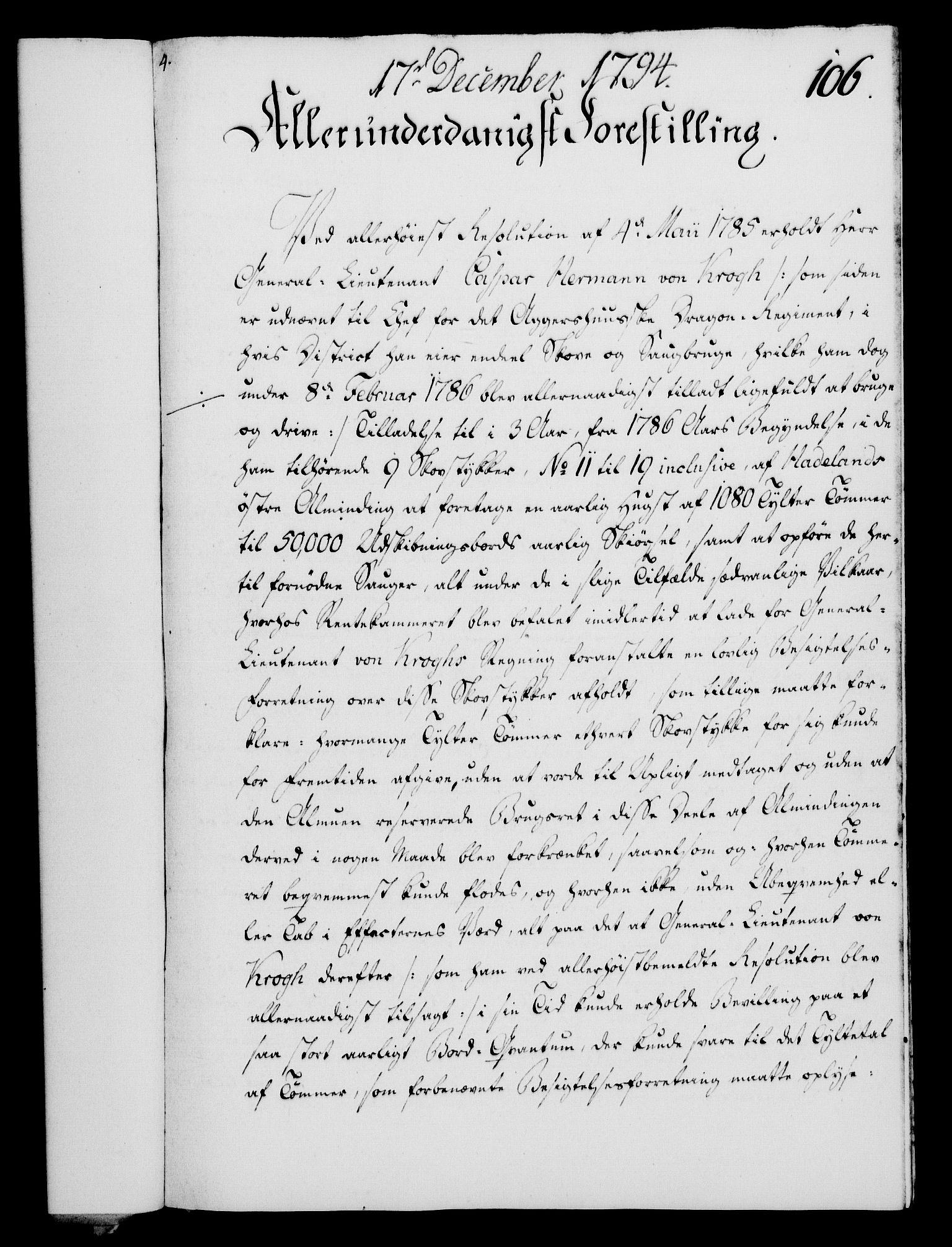 RA, Rentekammeret, Kammerkanselliet, G/Gf/Gfa/L0076: Norsk relasjons- og resolusjonsprotokoll (merket RK 52.76), 1794, s. 497
