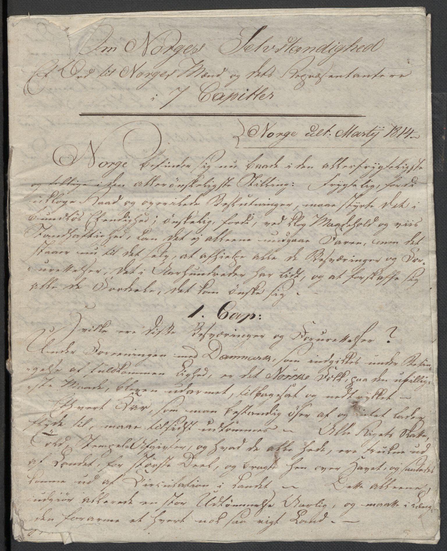 RA, Christie, Wilhelm Frimann Koren, F/L0004, 1814, s. 9