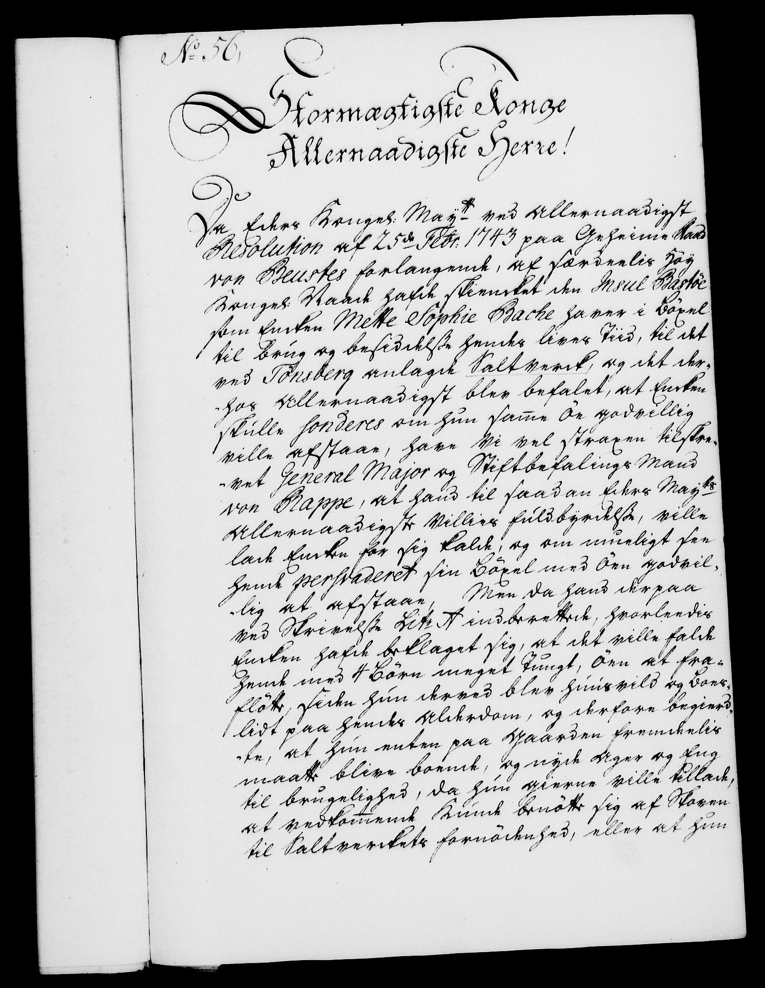 RA, Rentekammeret, Kammerkanselliet, G/Gf/Gfa/L0027: Norsk relasjons- og resolusjonsprotokoll (merket RK 52.27), 1744, s. 386