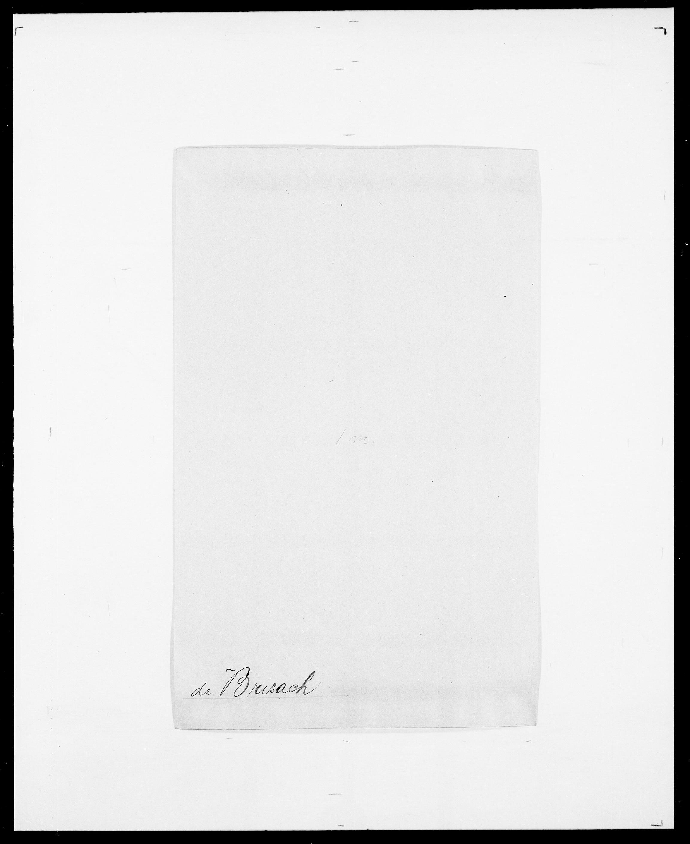 SAO, Delgobe, Charles Antoine - samling, D/Da/L0006: Brambani - Brønø, s. 401