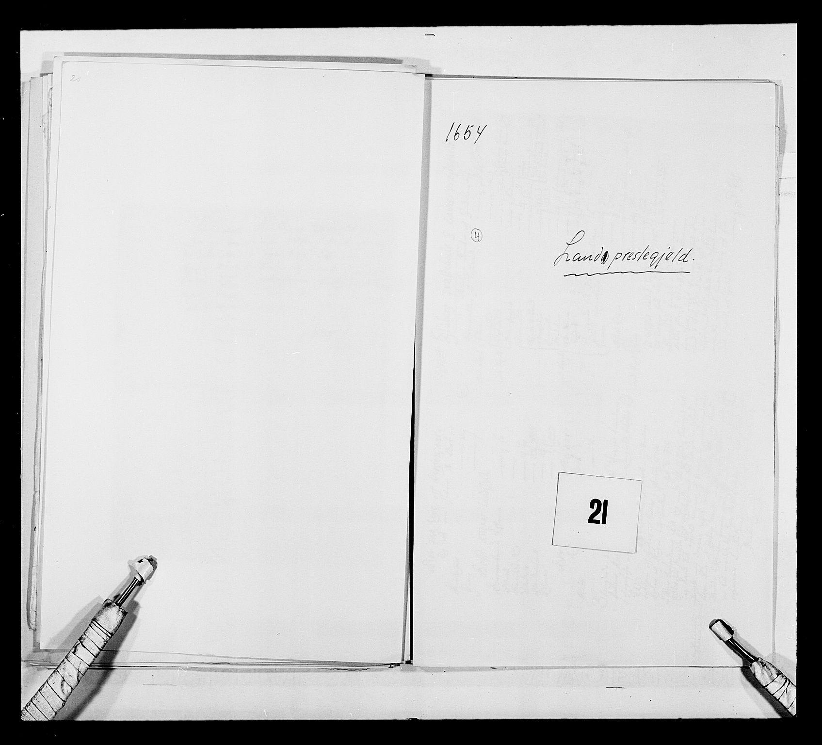 RA, Stattholderembetet 1572-1771, Ek/L0030: Jordebøker 1633-1658:, 1654, s. 86