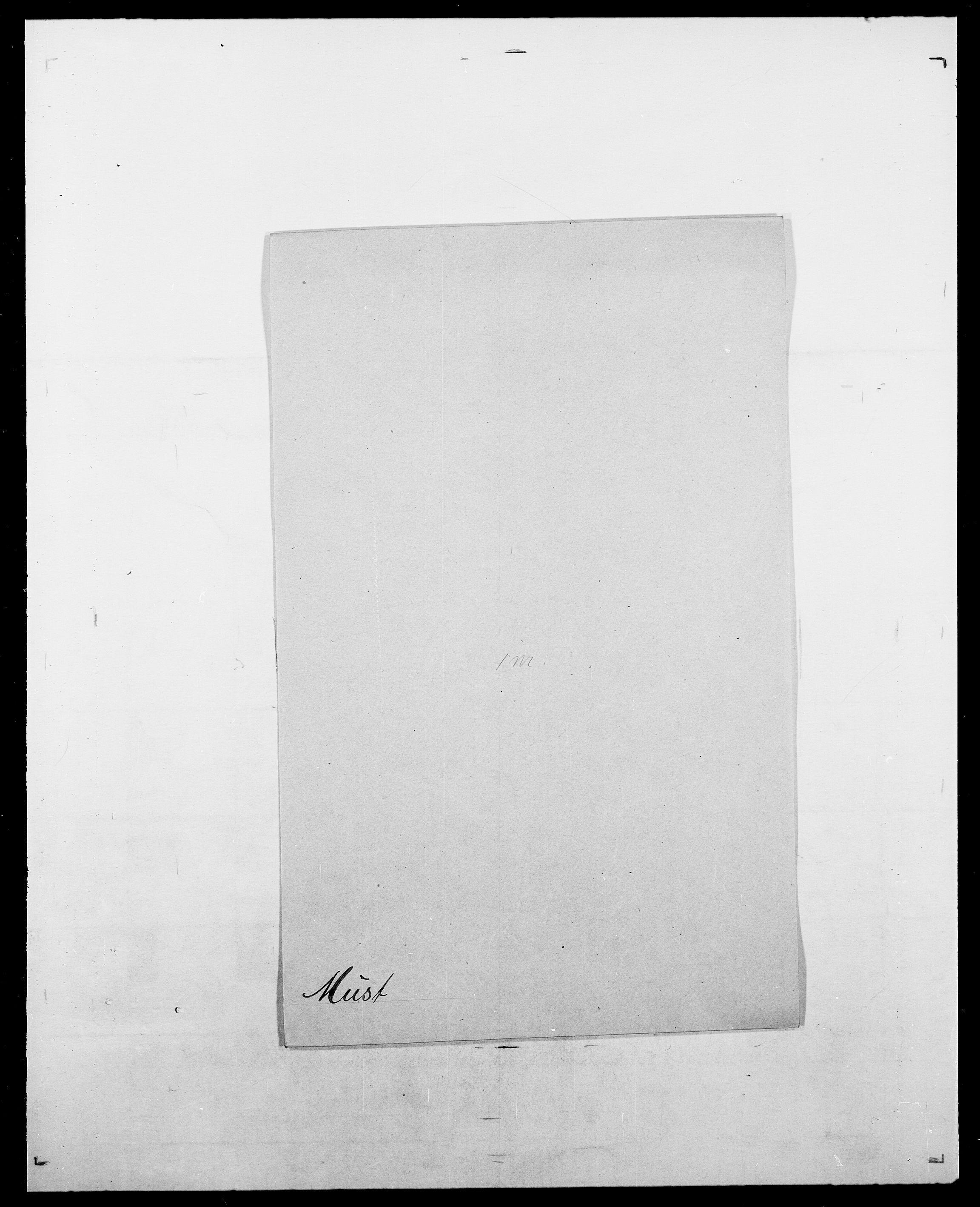 SAO, Delgobe, Charles Antoine - samling, D/Da/L0027: Morath - v. Møsting, s. 274