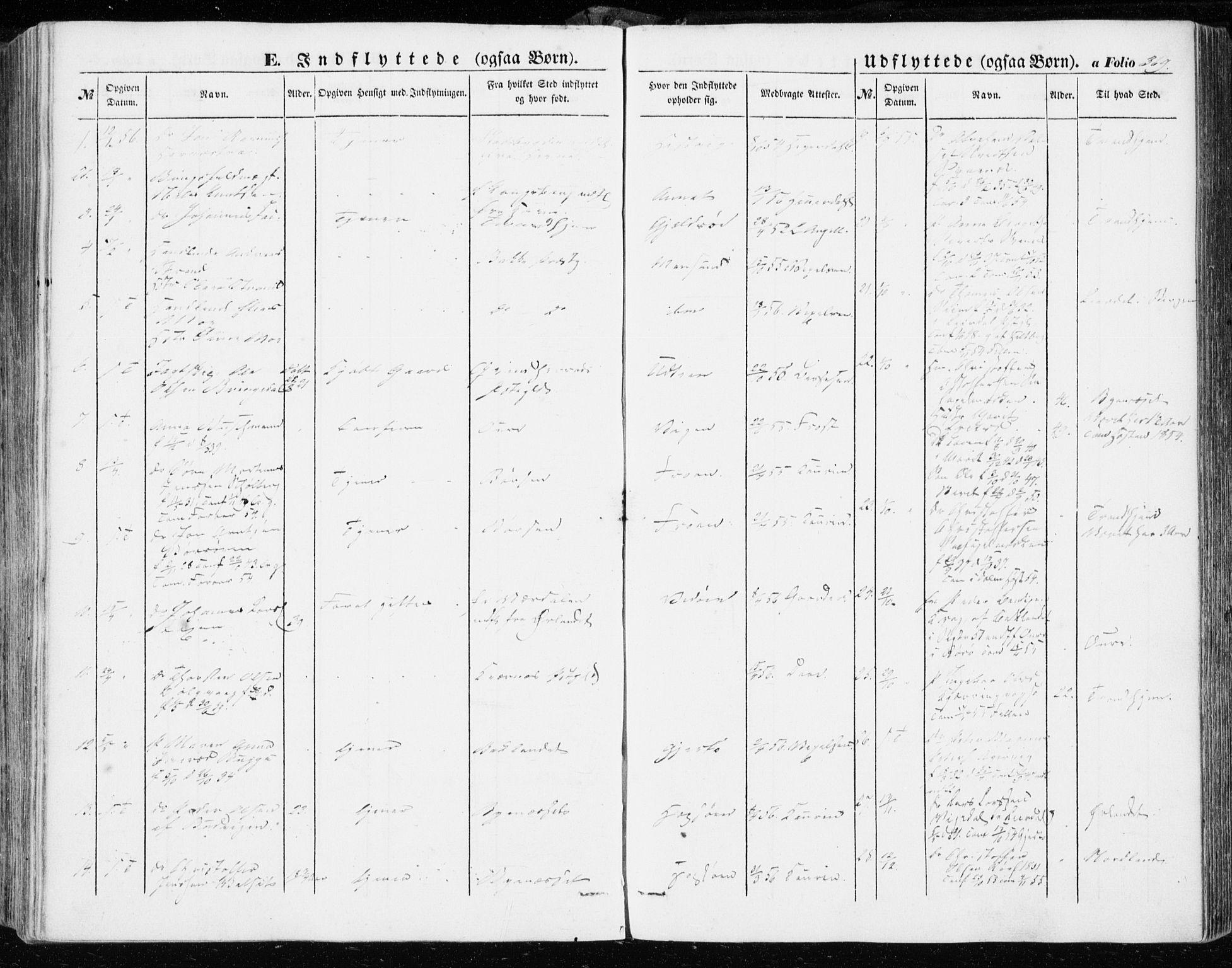SAT, Ministerialprotokoller, klokkerbøker og fødselsregistre - Sør-Trøndelag, 634/L0530: Ministerialbok nr. 634A06, 1852-1860, s. 369