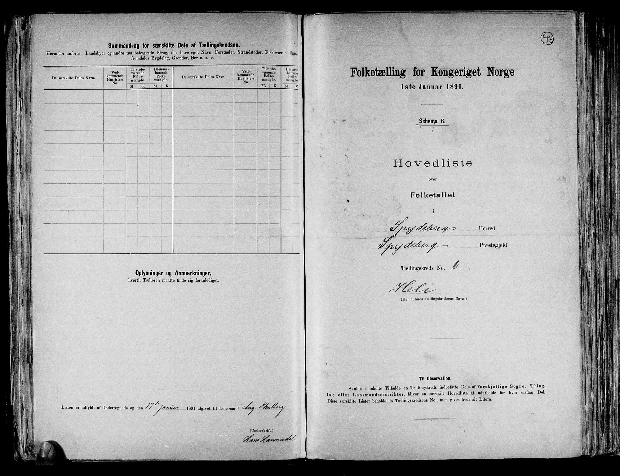RA, Folketelling 1891 for 0123 Spydeberg herred, 1891, s. 32