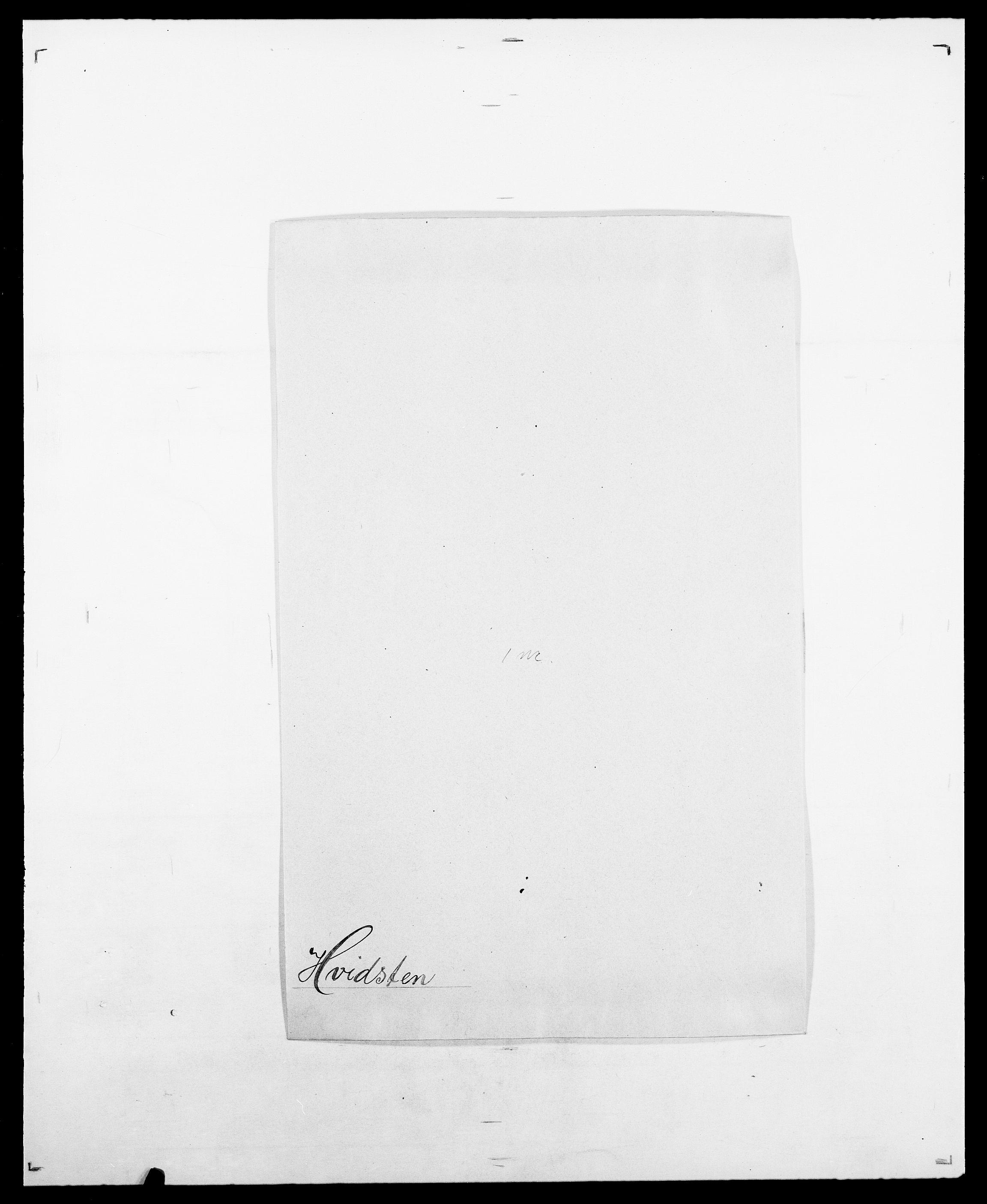 SAO, Delgobe, Charles Antoine - samling, D/Da/L0019: van der Hude - Joys, s. 191