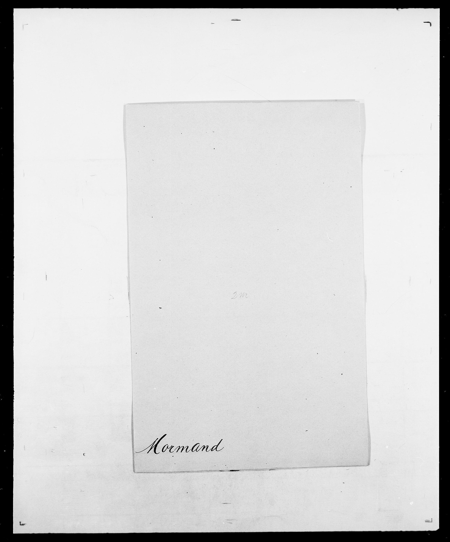 SAO, Delgobe, Charles Antoine - samling, D/Da/L0027: Morath - v. Møsting, s. 15