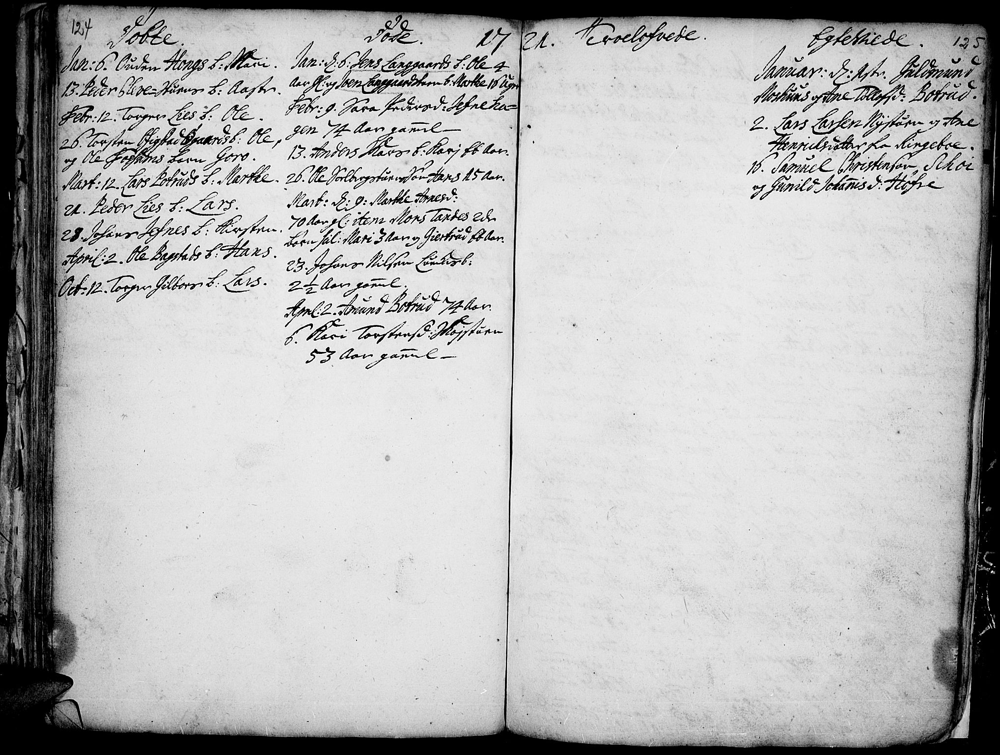 SAH, Øyer prestekontor, Ministerialbok nr. 1, 1671-1727, s. 124-125
