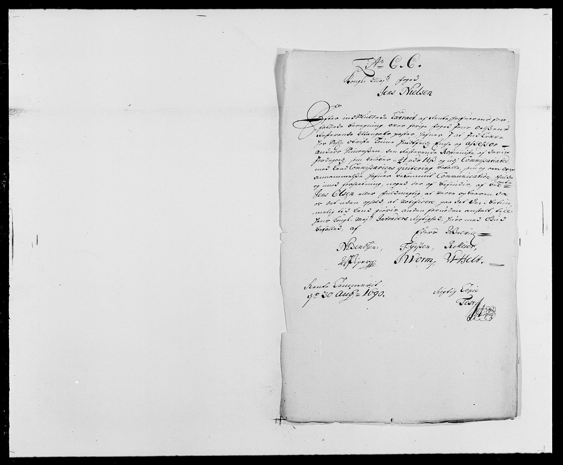 RA, Rentekammeret inntil 1814, Reviderte regnskaper, Fogderegnskap, R29/L1693: Fogderegnskap Hurum og Røyken, 1688-1693, s. 233