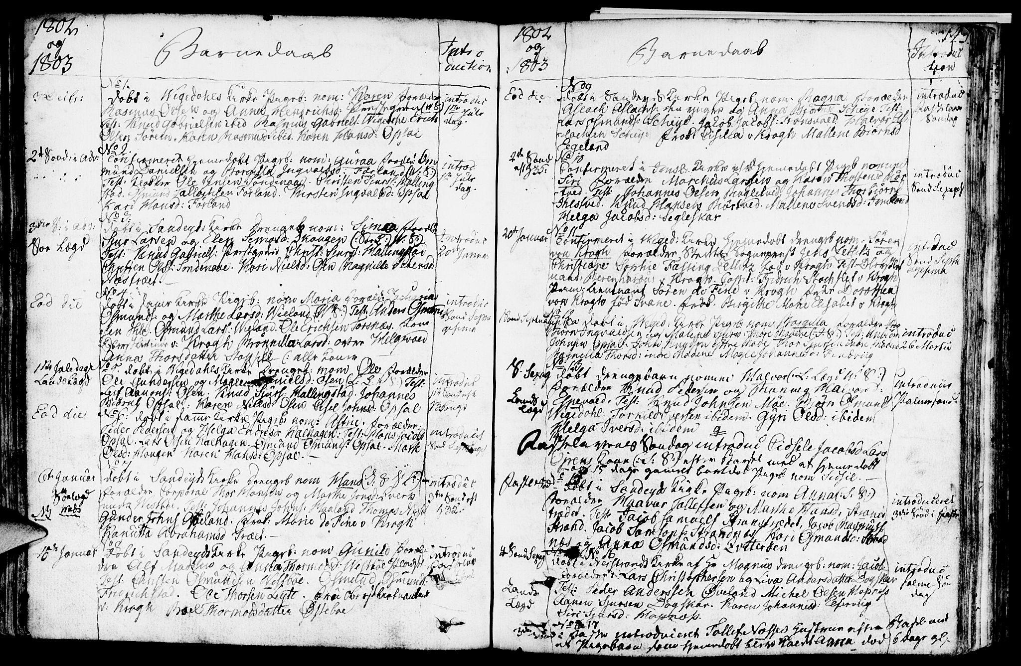 SAST, Vikedal sokneprestkontor, IV: Ministerialbok nr. A 2, 1779-1817, s. 143