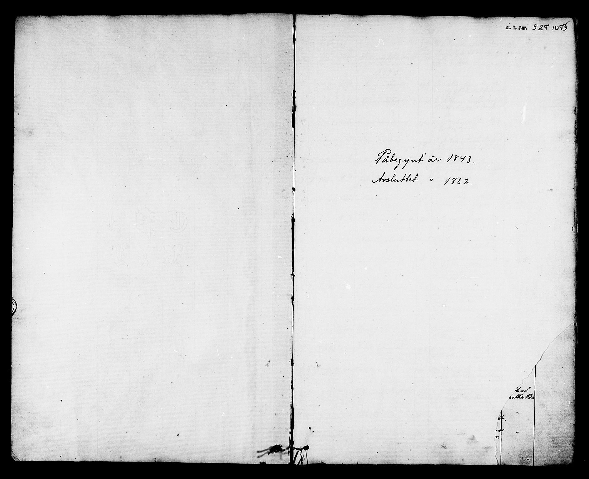 SAT, Ministerialprotokoller, klokkerbøker og fødselsregistre - Nord-Trøndelag, 788/L0695: Ministerialbok nr. 788A02, 1843-1862
