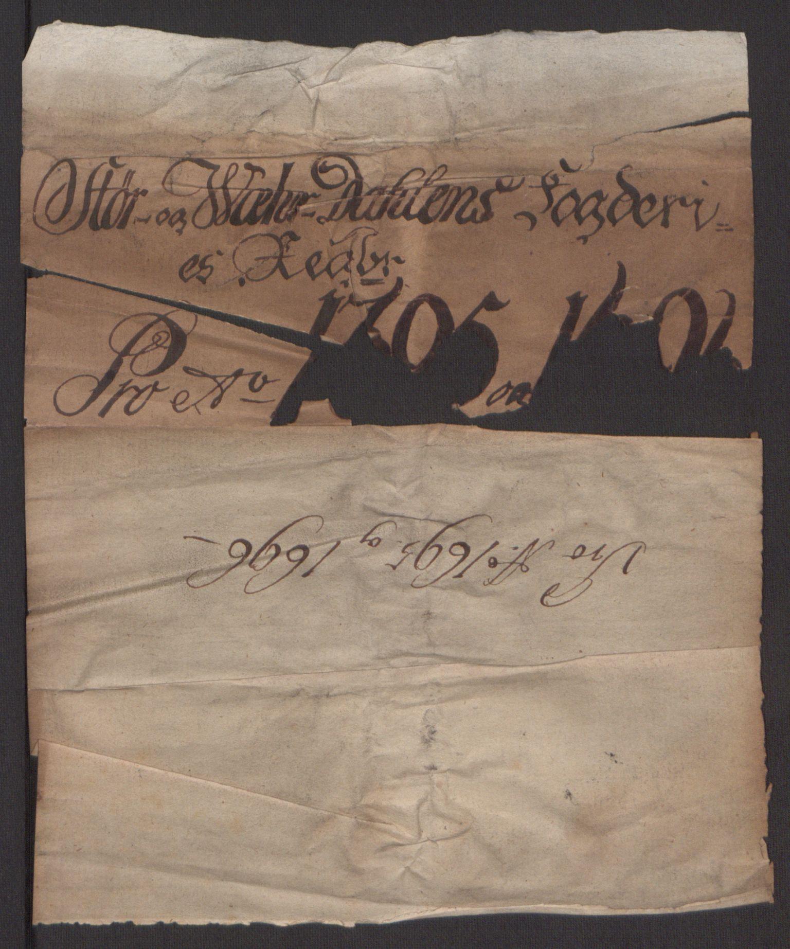 RA, Rentekammeret inntil 1814, Reviderte regnskaper, Fogderegnskap, R62/L4187: Fogderegnskap Stjørdal og Verdal, 1695, s. 141