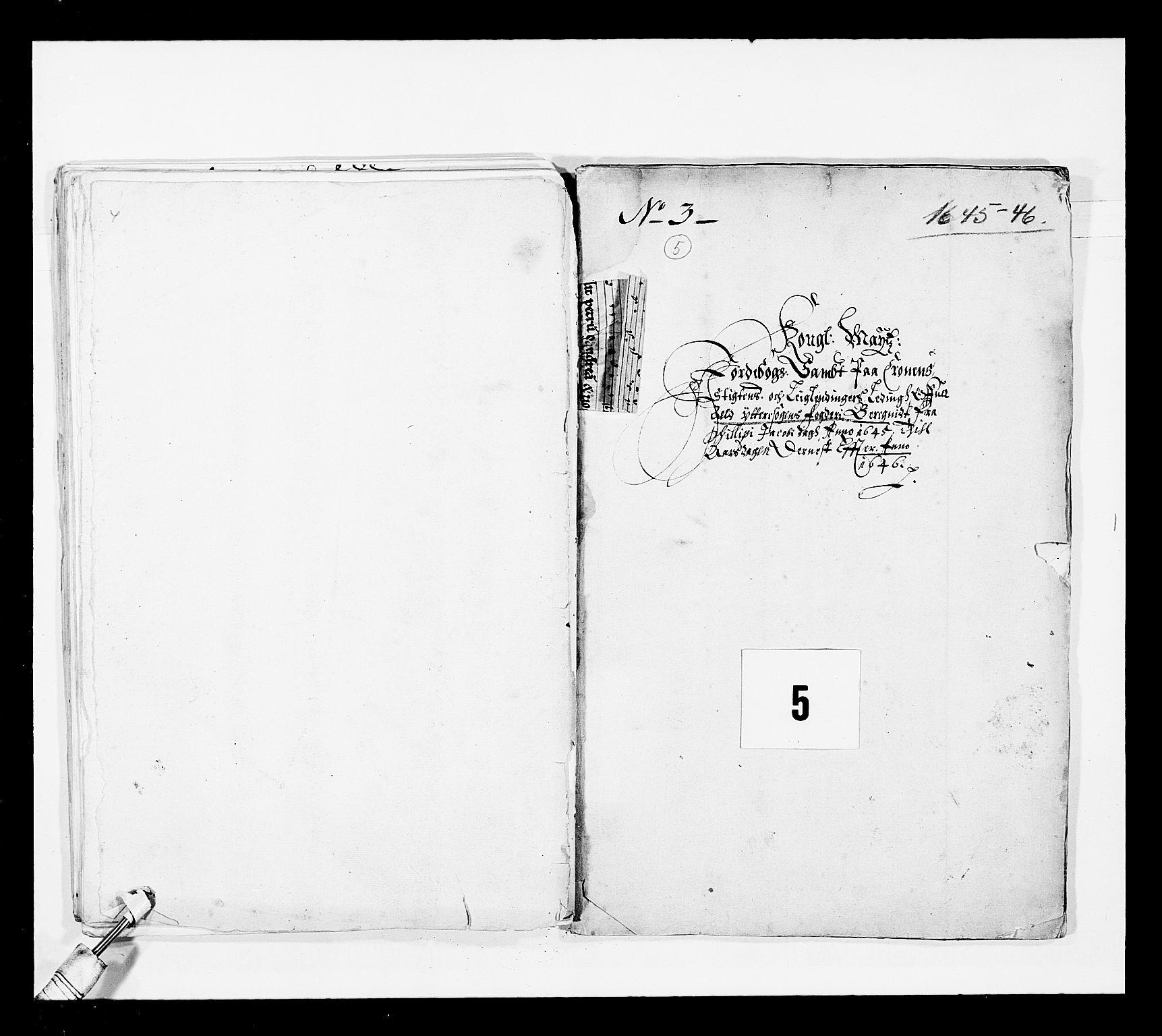 RA, Stattholderembetet 1572-1771, Ek/L0025: Jordebøker 1633-1658:, 1645-1646, s. 113