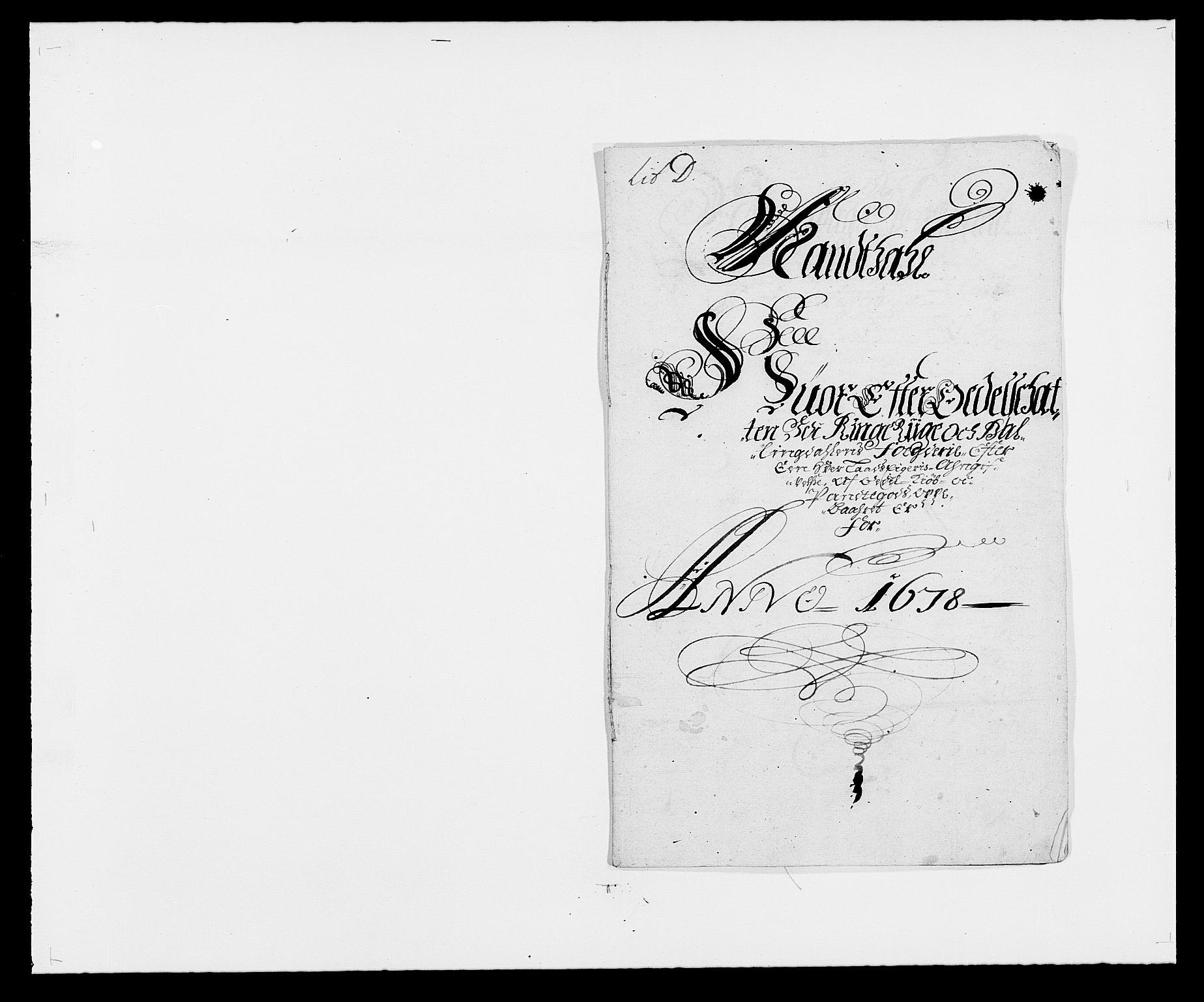 RA, Rentekammeret inntil 1814, Reviderte regnskaper, Fogderegnskap, R21/L1443: Fogderegnskap Ringerike og Hallingdal, 1678-1680, s. 99