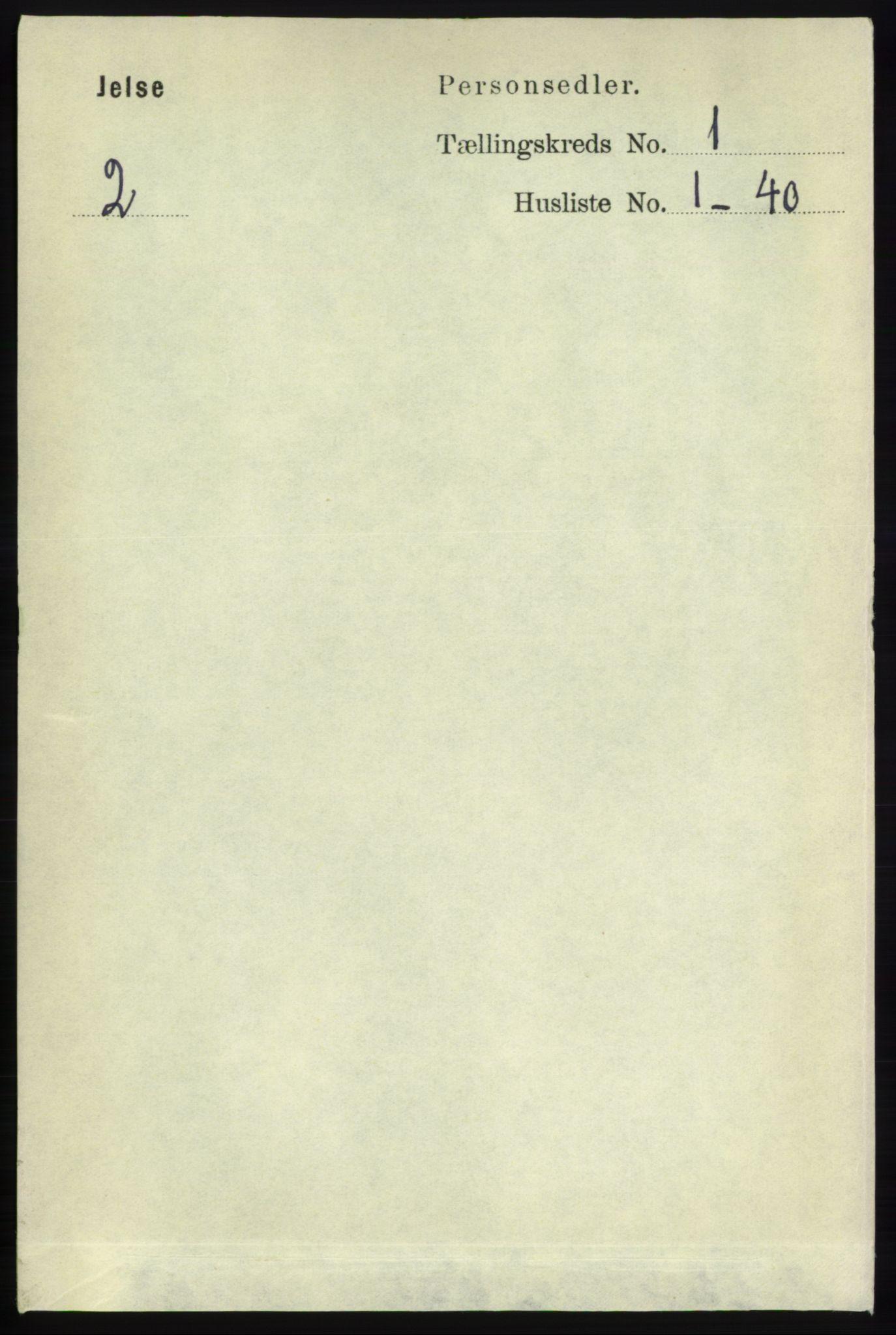 RA, Folketelling 1891 for 1138 Jelsa herred, 1891, s. 71