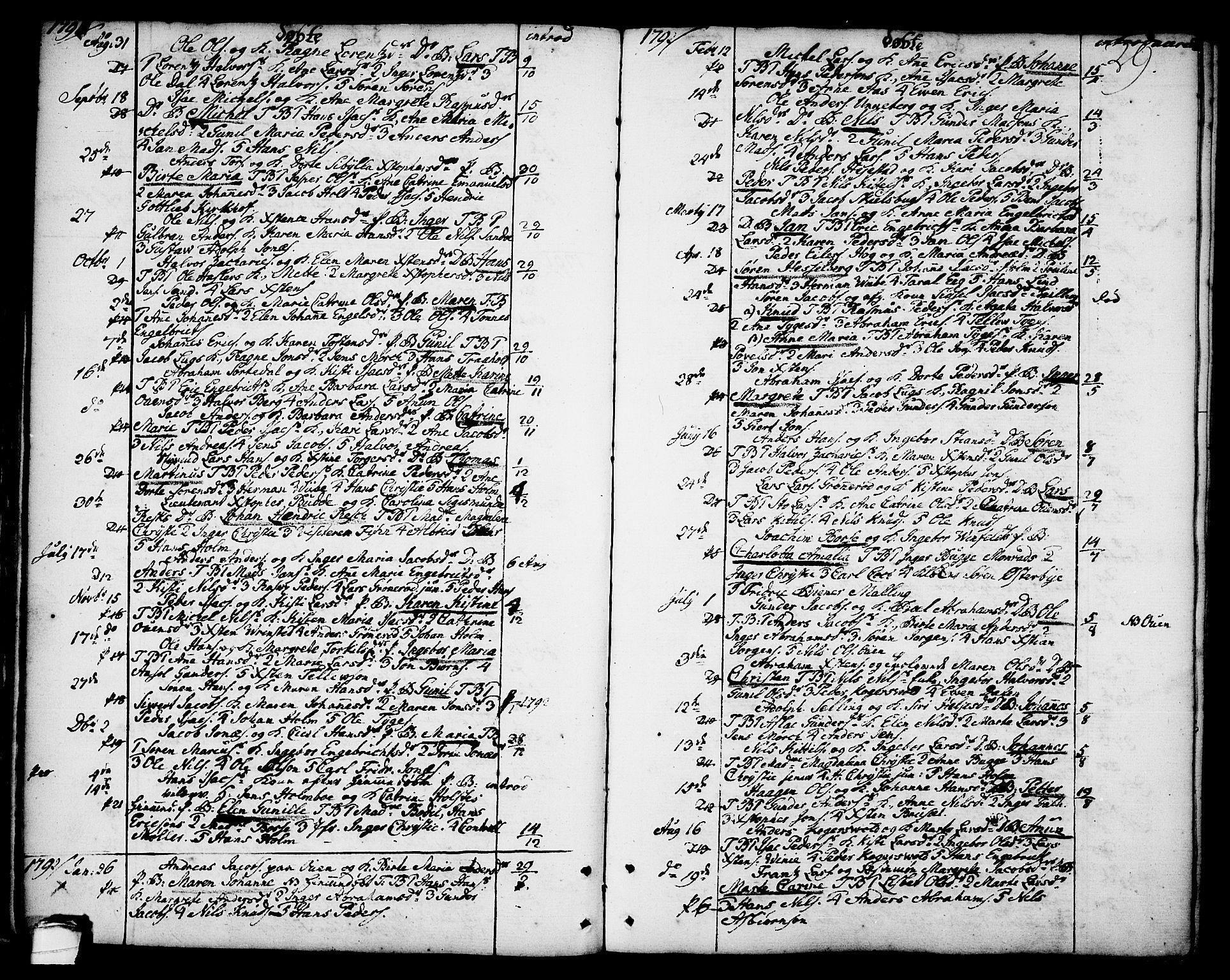 SAKO, Brevik kirkebøker, F/Fa/L0003: Ministerialbok nr. 3, 1764-1814, s. 29