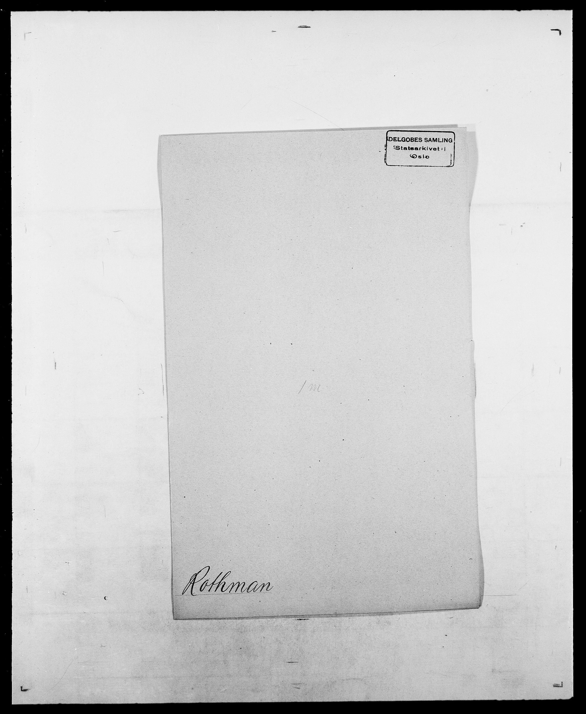 SAO, Delgobe, Charles Antoine - samling, D/Da/L0033: Roald - Røyem, s. 396
