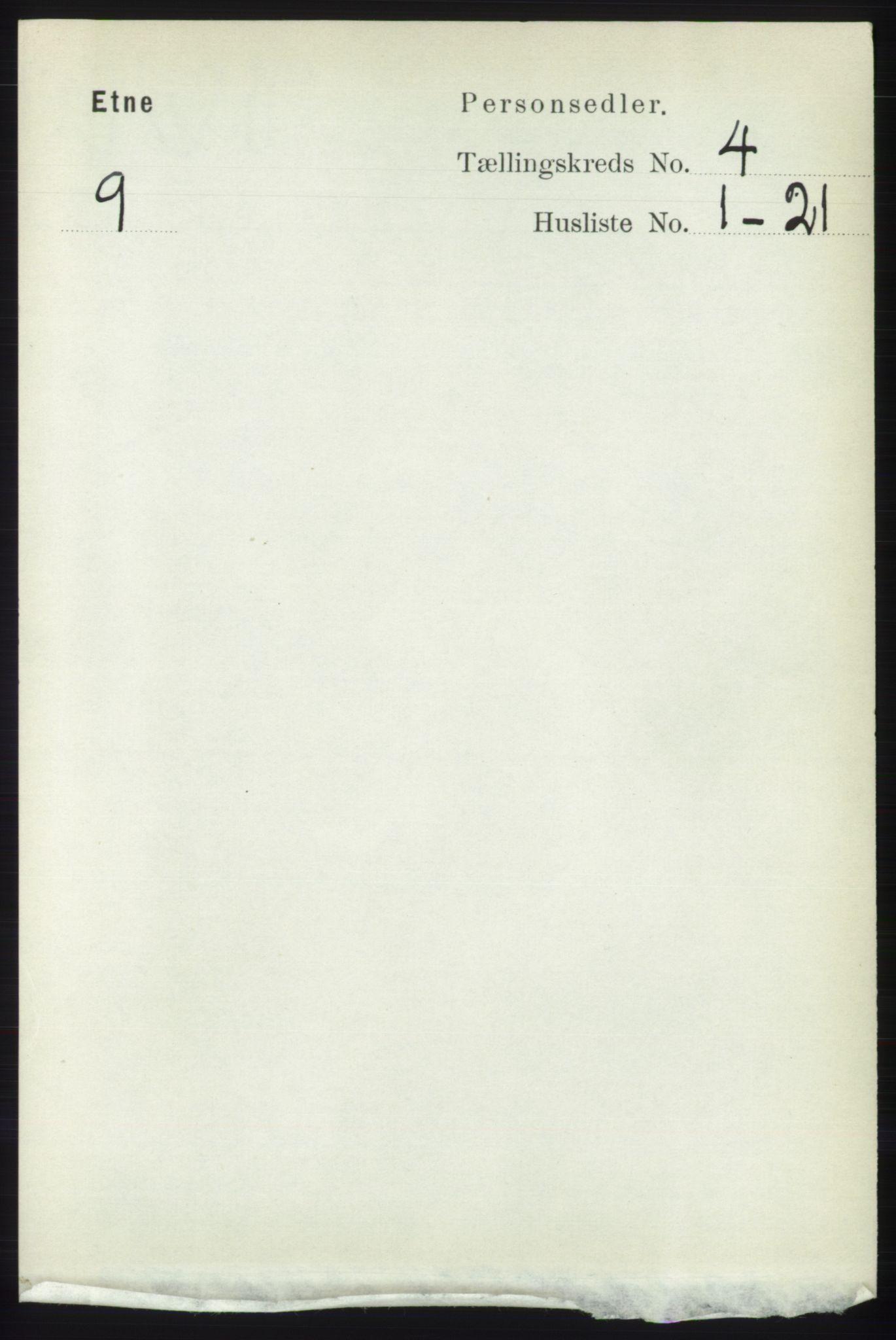 RA, Folketelling 1891 for 1211 Etne herred, 1891, s. 852
