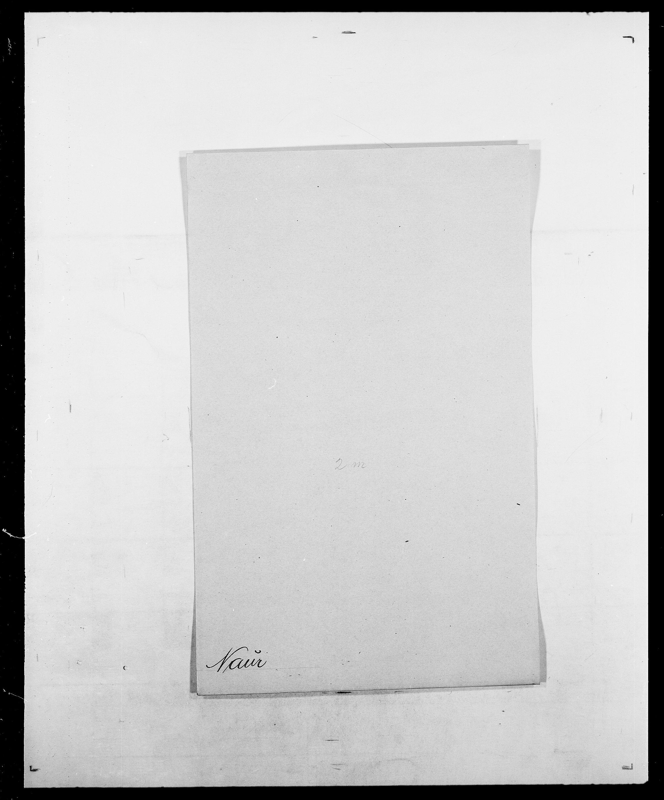 SAO, Delgobe, Charles Antoine - samling, D/Da/L0028: Naaden - Nøvik, s. 74