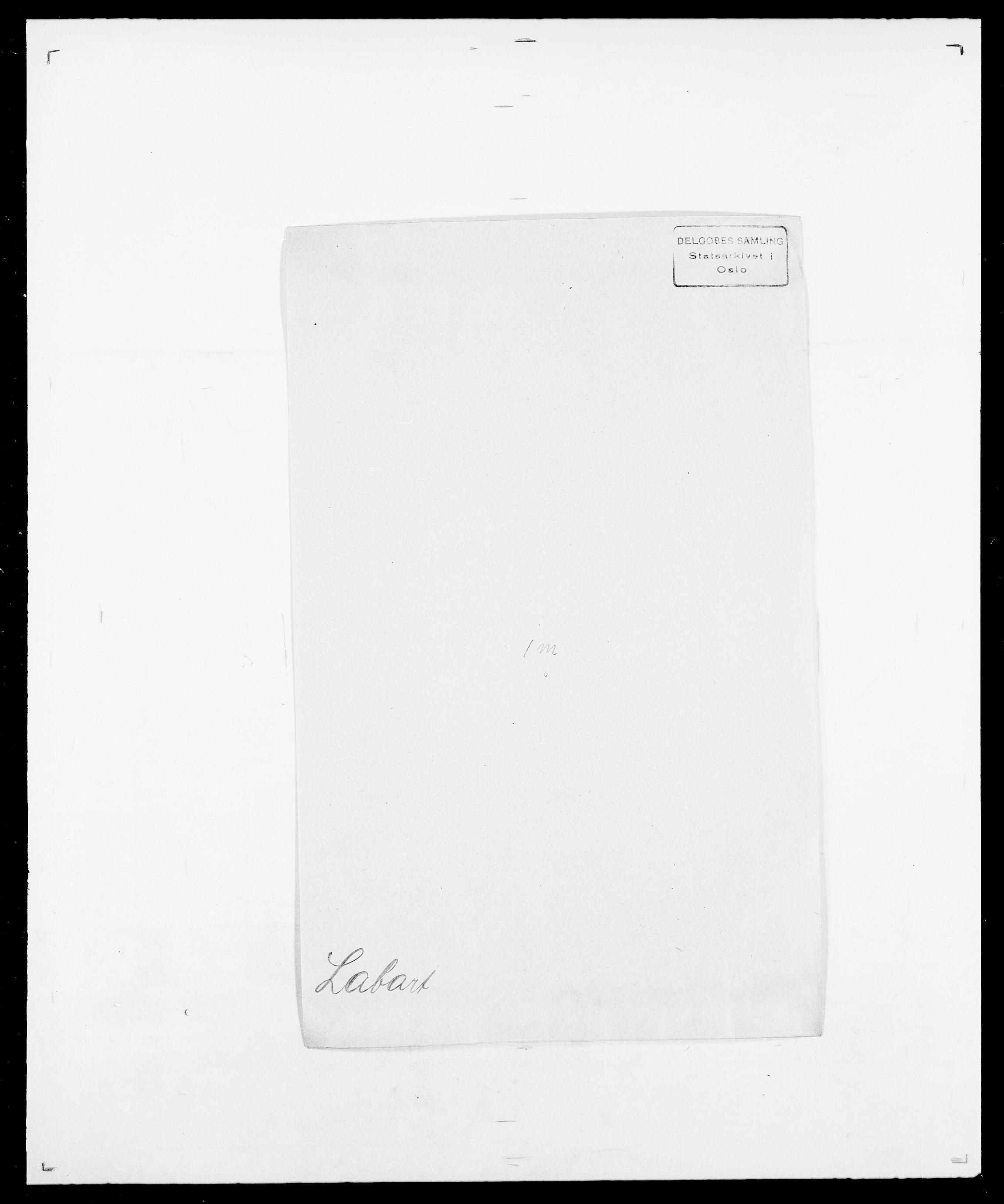 SAO, Delgobe, Charles Antoine - samling, D/Da/L0022: Krog - Lasteen, s. 356