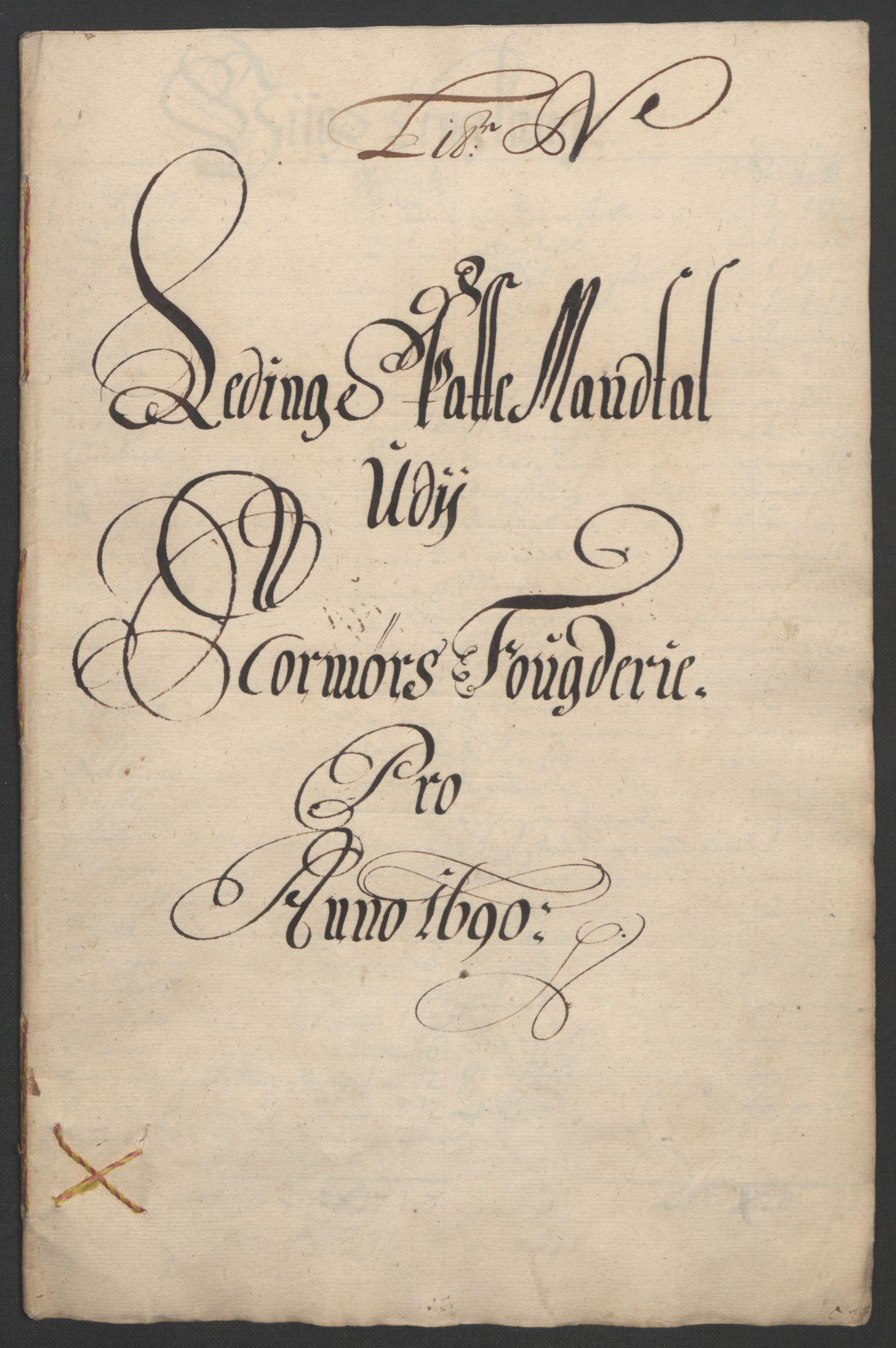 RA, Rentekammeret inntil 1814, Reviderte regnskaper, Fogderegnskap, R56/L3734: Fogderegnskap Nordmøre, 1690-1691, s. 180