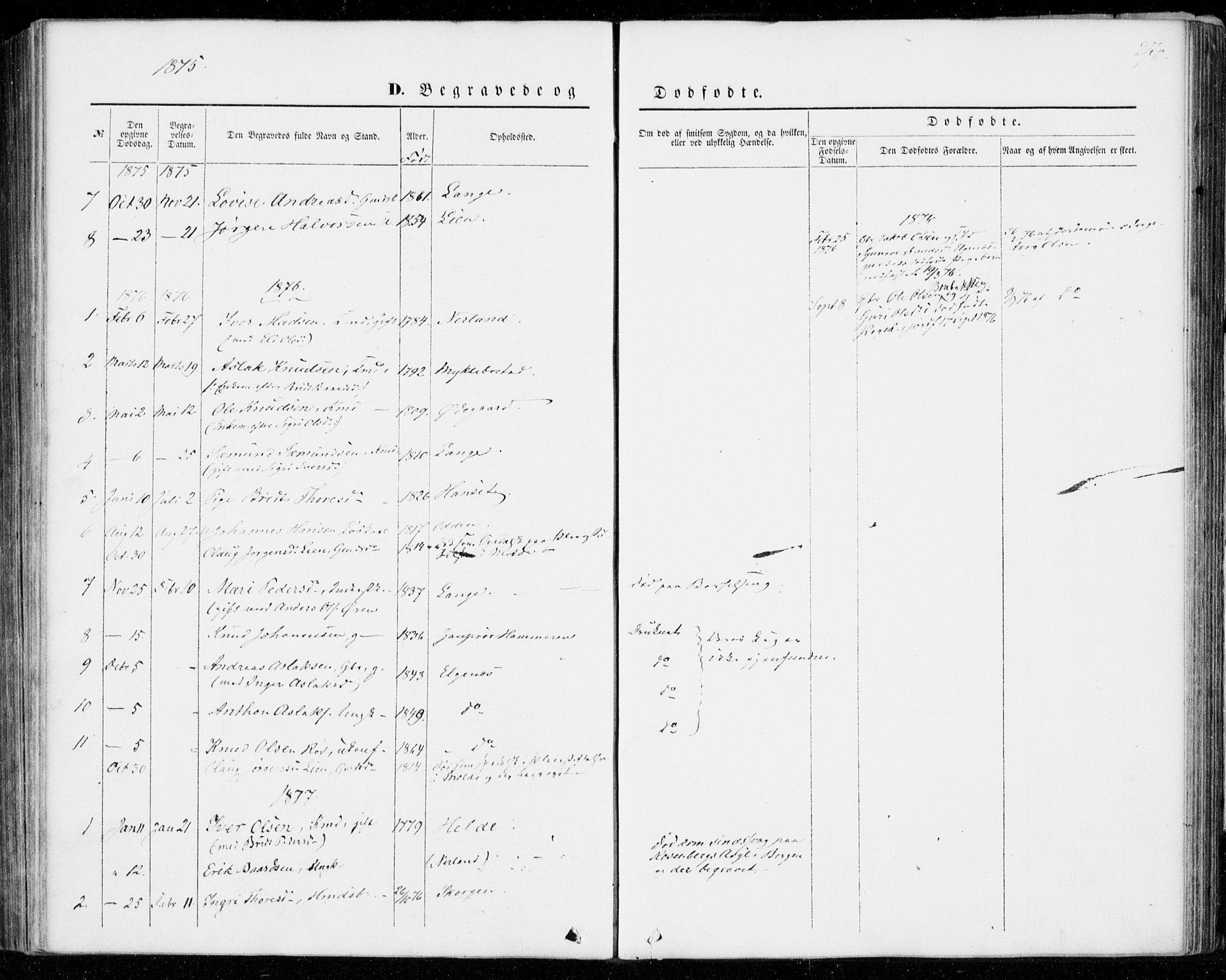 SAT, Ministerialprotokoller, klokkerbøker og fødselsregistre - Møre og Romsdal, 554/L0643: Ministerialbok nr. 554A01, 1846-1879, s. 270