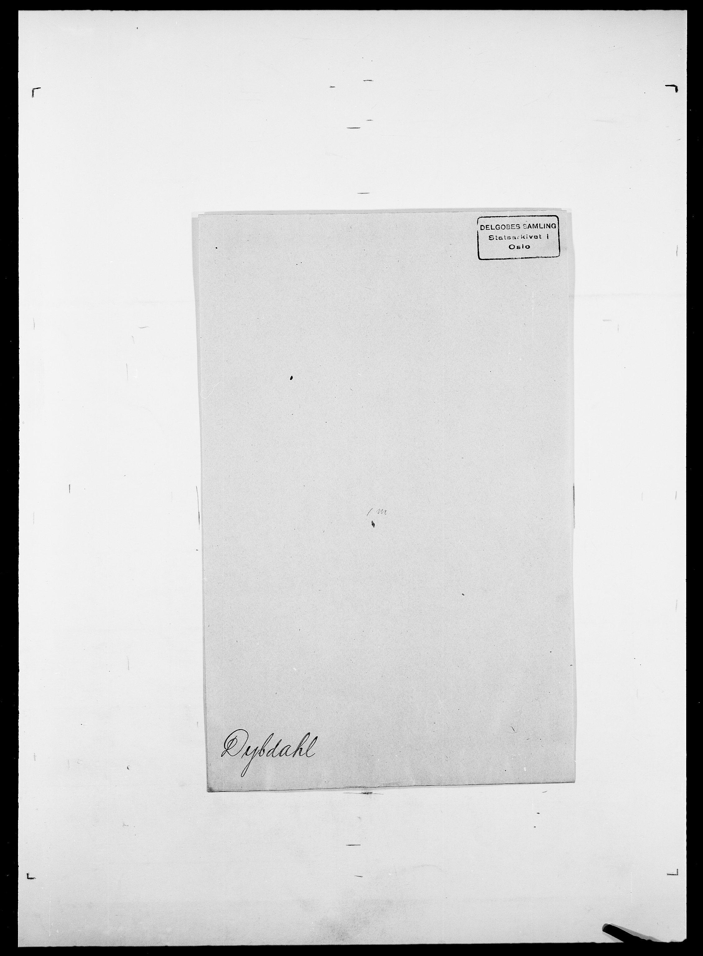 SAO, Delgobe, Charles Antoine - samling, D/Da/L0009: Dahl - v. Düren, s. 881