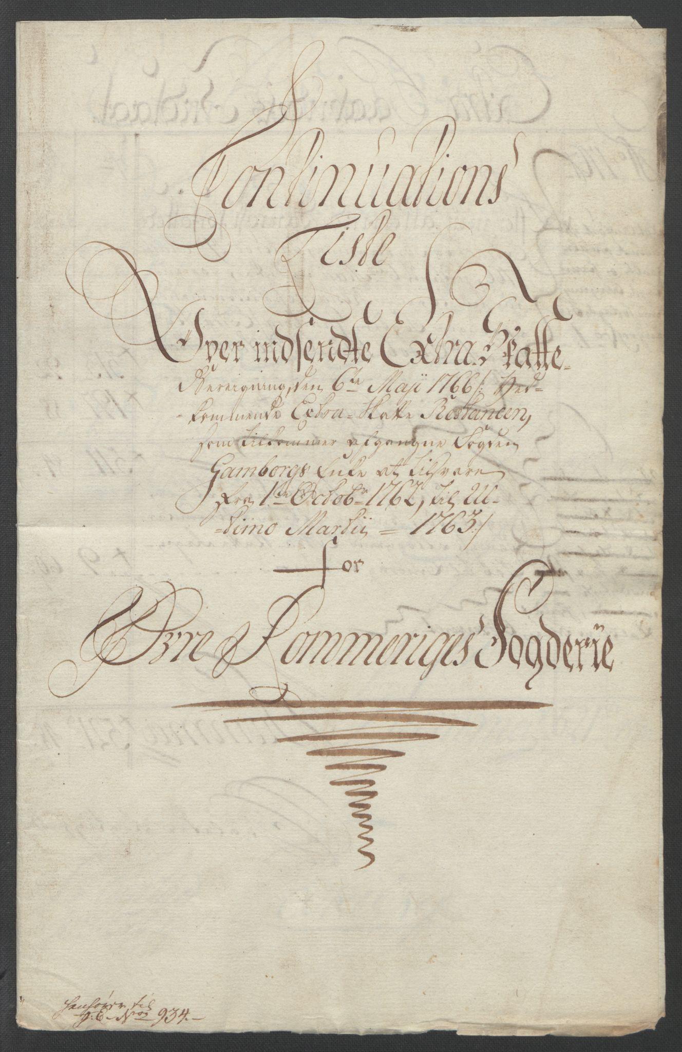 RA, Rentekammeret inntil 1814, Reviderte regnskaper, Fogderegnskap, R12/L0802: Ekstraskatten Øvre Romerike, 1762, s. 544