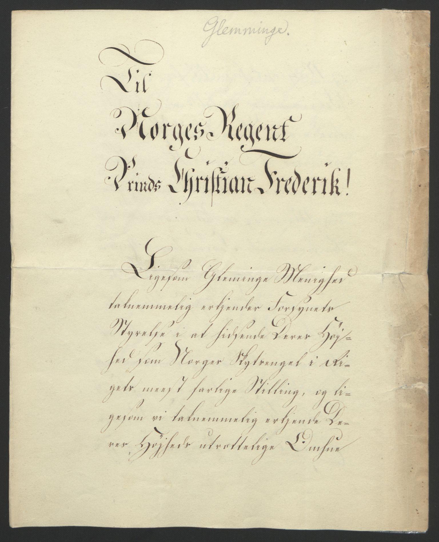 RA, Statsrådssekretariatet, D/Db/L0007: Fullmakter for Eidsvollsrepresentantene i 1814. , 1814, s. 146