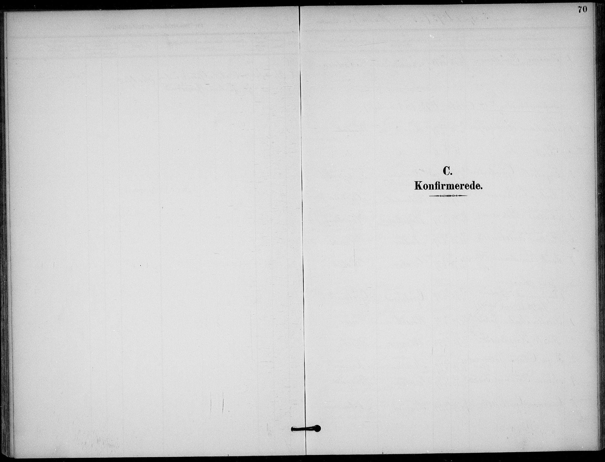 SAKO, Solum kirkebøker, F/Fb/L0002: Ministerialbok nr. II 2, 1893-1901, s. 70