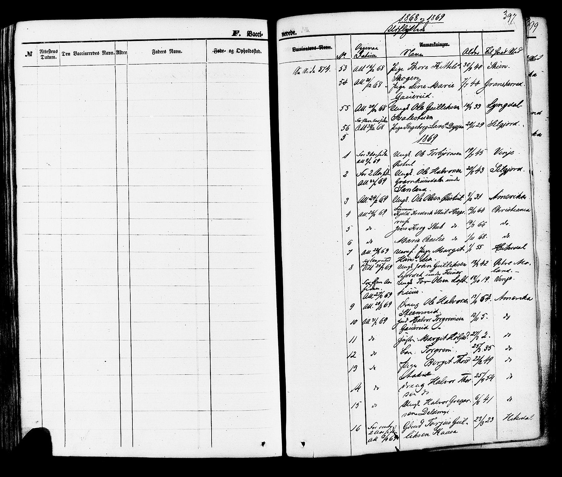 SAKO, Hjartdal kirkebøker, F/Fa/L0009: Ministerialbok nr. I 9, 1860-1879, s. 397