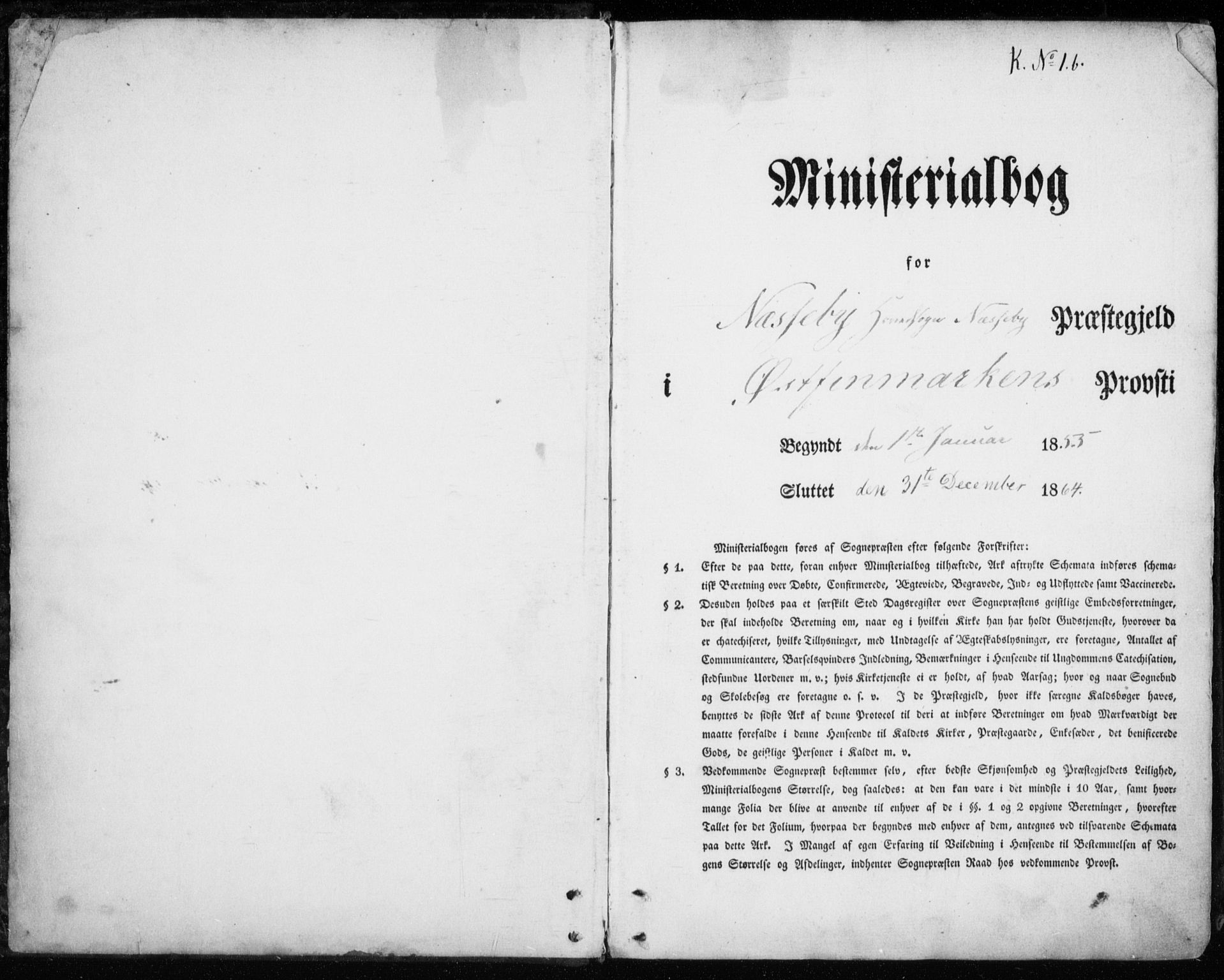 SATØ, Nesseby sokneprestkontor, H/Ha/L0002kirke: Ministerialbok nr. 2, 1856-1864