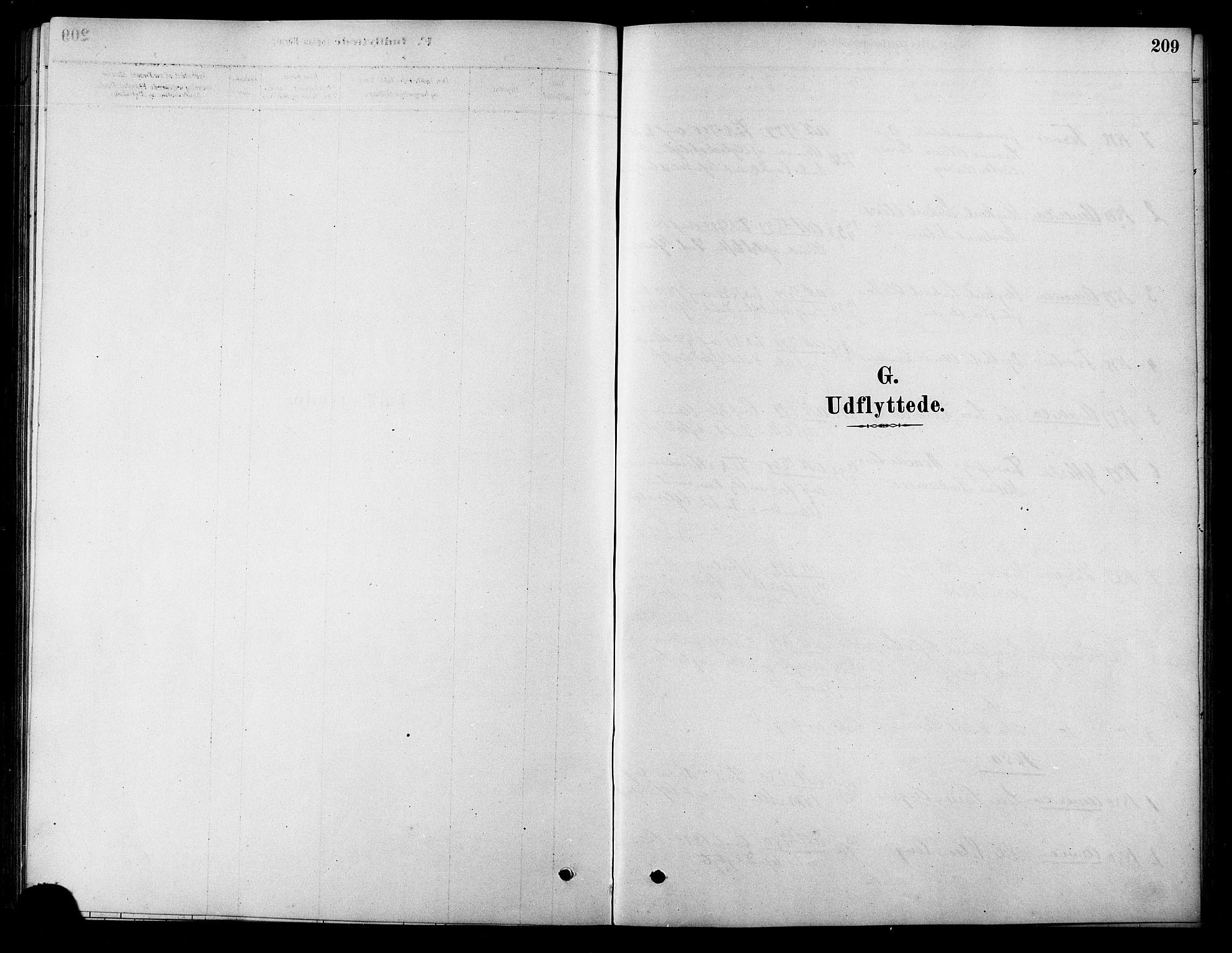 SAT, Ministerialprotokoller, klokkerbøker og fødselsregistre - Sør-Trøndelag, 658/L0722: Ministerialbok nr. 658A01, 1879-1896, s. 209