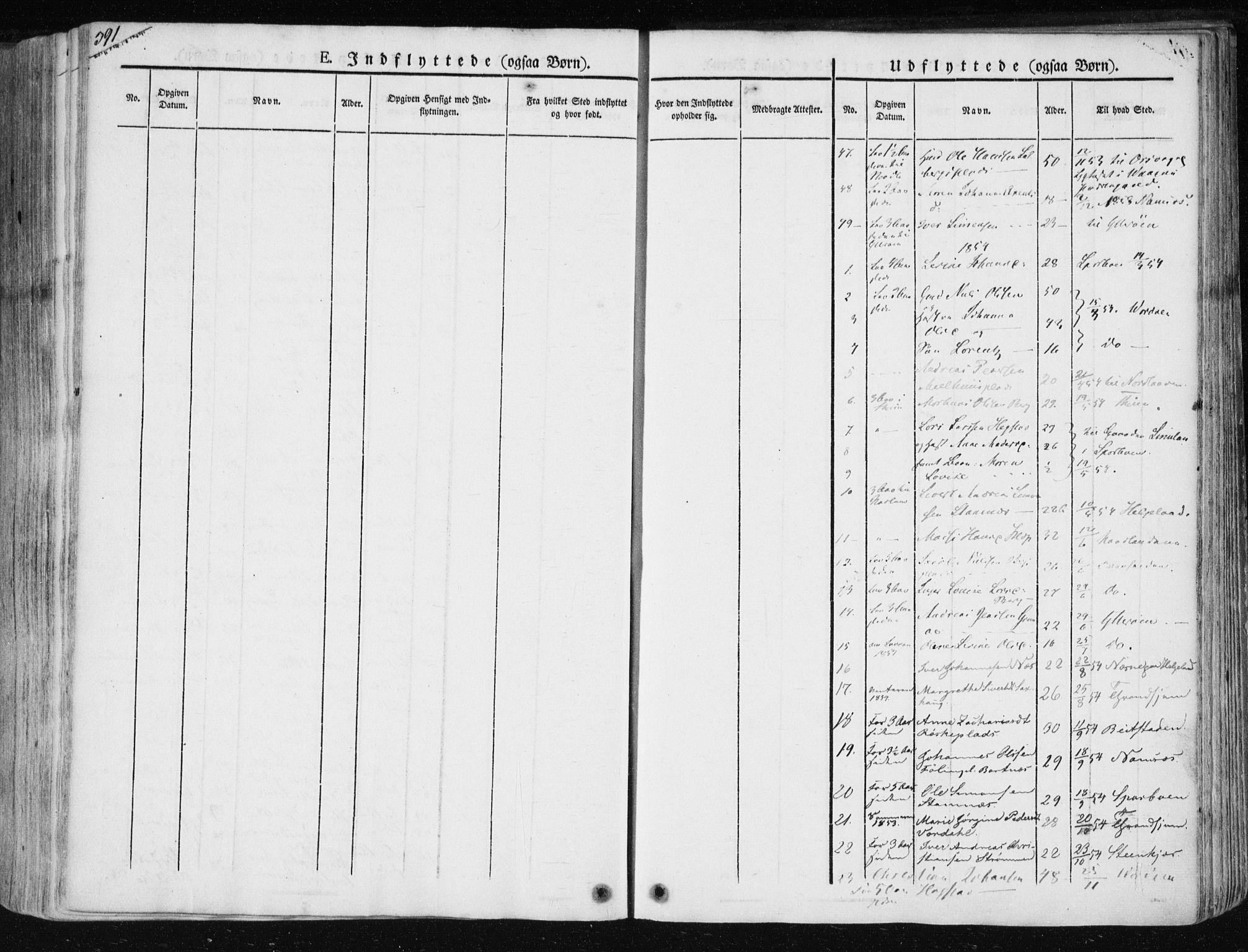 SAT, Ministerialprotokoller, klokkerbøker og fødselsregistre - Nord-Trøndelag, 730/L0280: Ministerialbok nr. 730A07 /1, 1840-1854, s. 391