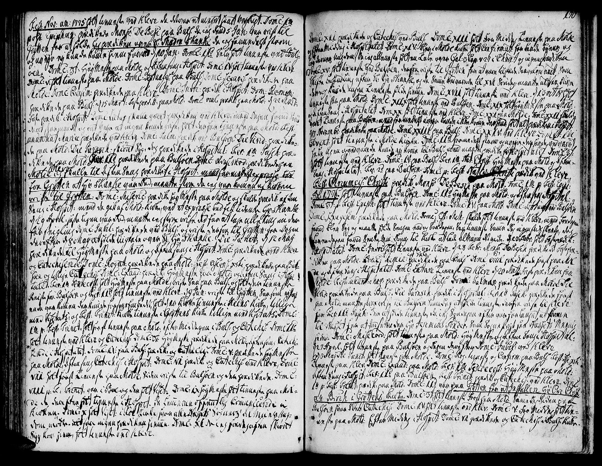SAT, Ministerialprotokoller, klokkerbøker og fødselsregistre - Møre og Romsdal, 555/L0648: Ministerialbok nr. 555A01, 1759-1793, s. 170